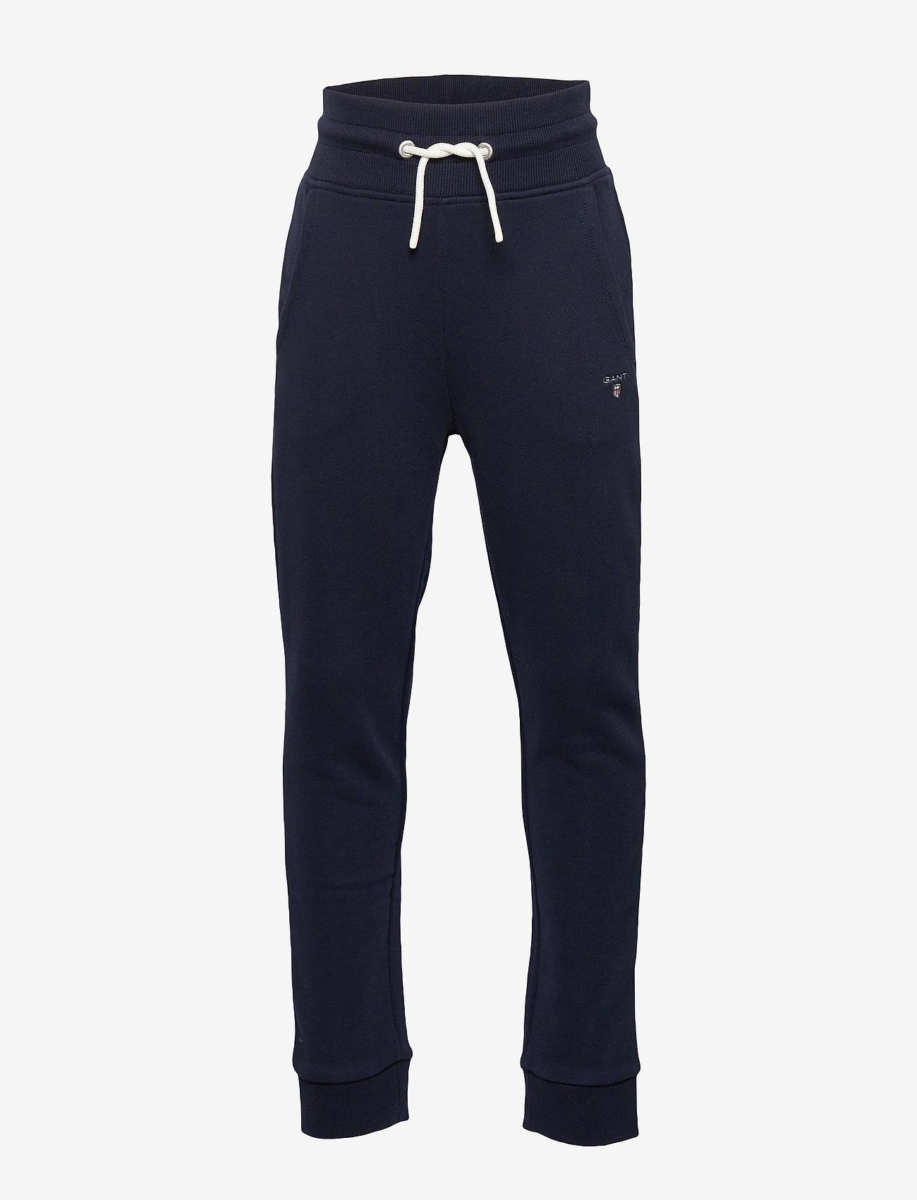 GANT - THE ORIGINAL SWEAT PANTS - sweatpants - evening blue - 0