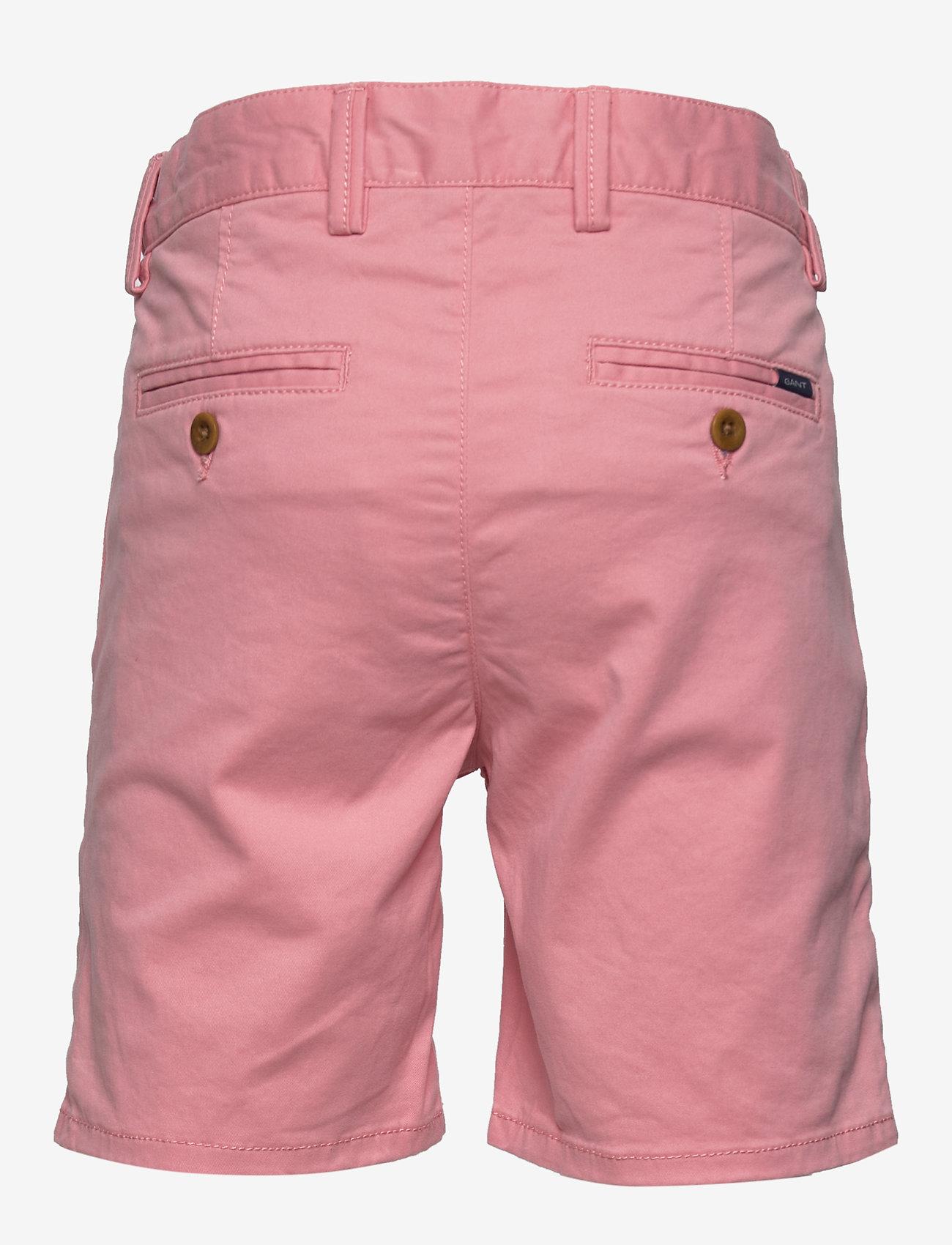 GANT - CHINO SHORTS - shorts - strawberry pink - 1
