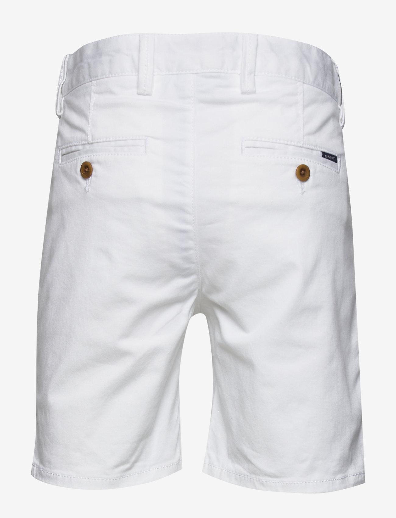 Gant - CHINO SHORTS - shorts - white