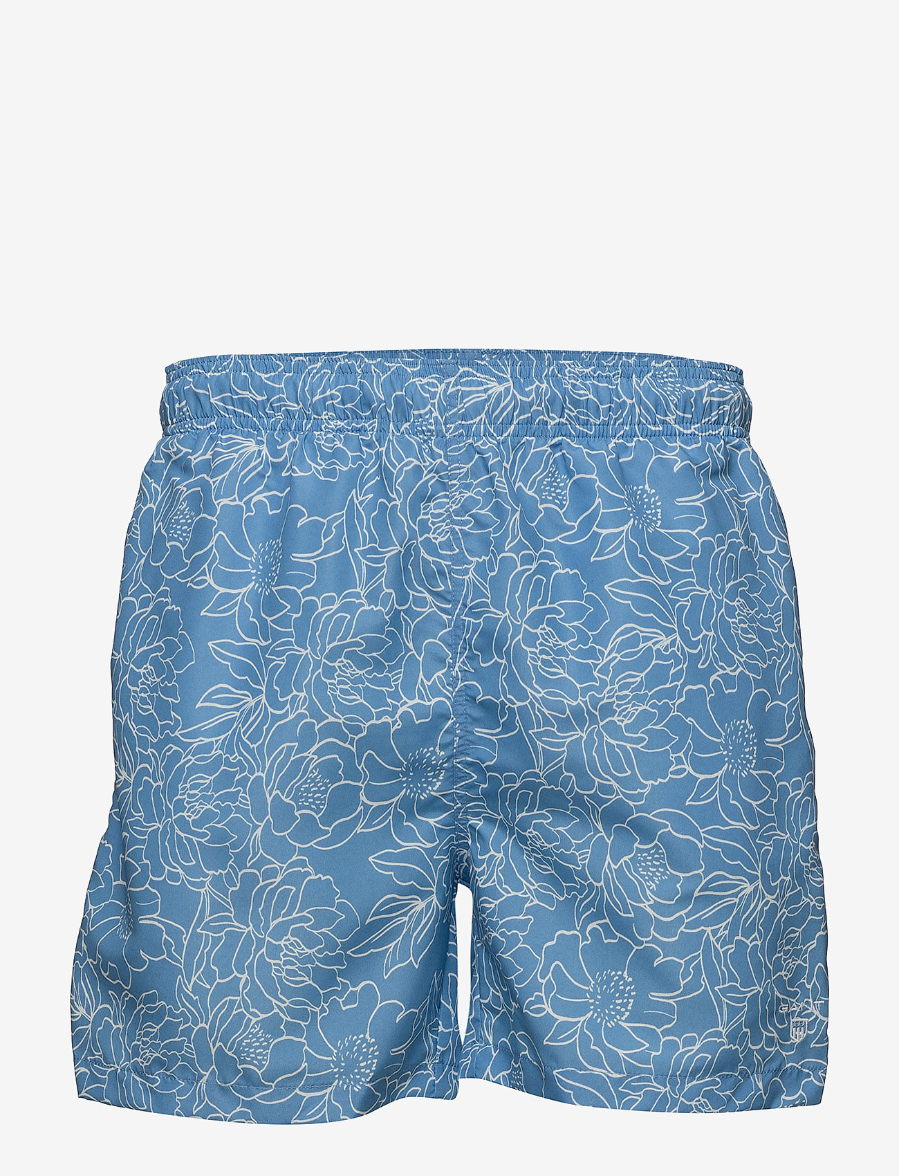 GANT - FULL BLOOM OUTLINE SWIM SHORTS C.F. - swim shorts - lava blue - 0