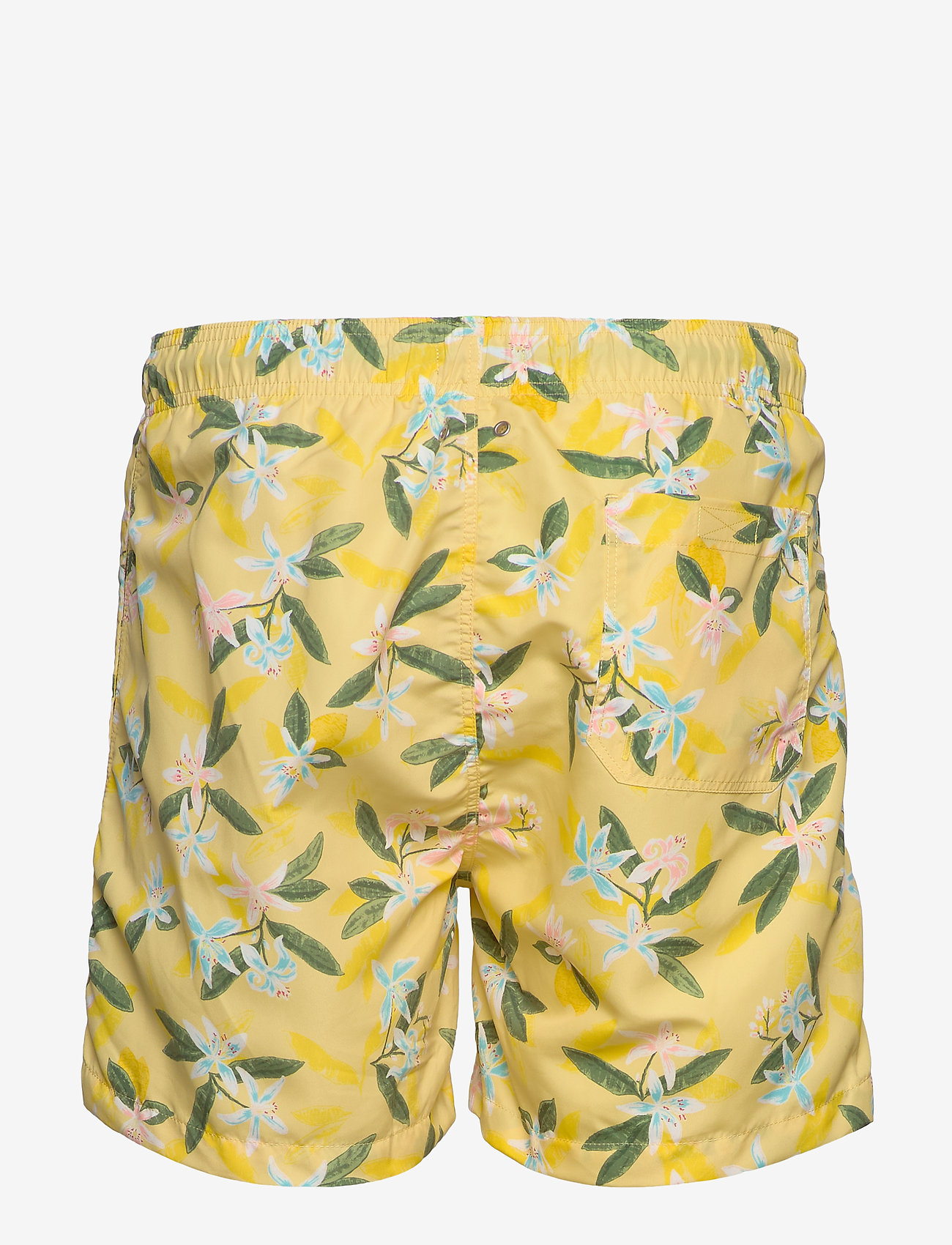 Gant - LEMON FLOWERS SWIM SHORTS CF - swim shorts - sunlight