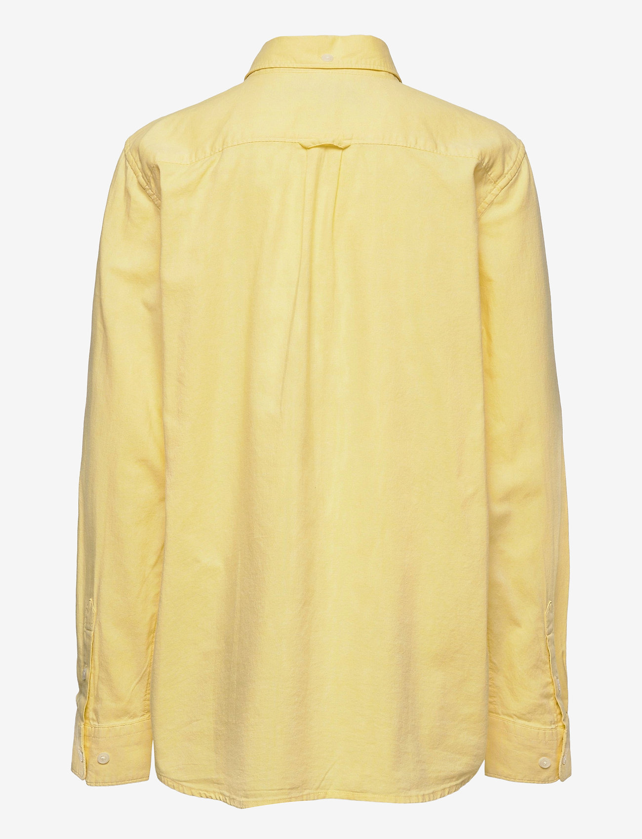 GANT - ARCHIVE OXFORD B.D SHIRT - shirts - lemon - 1