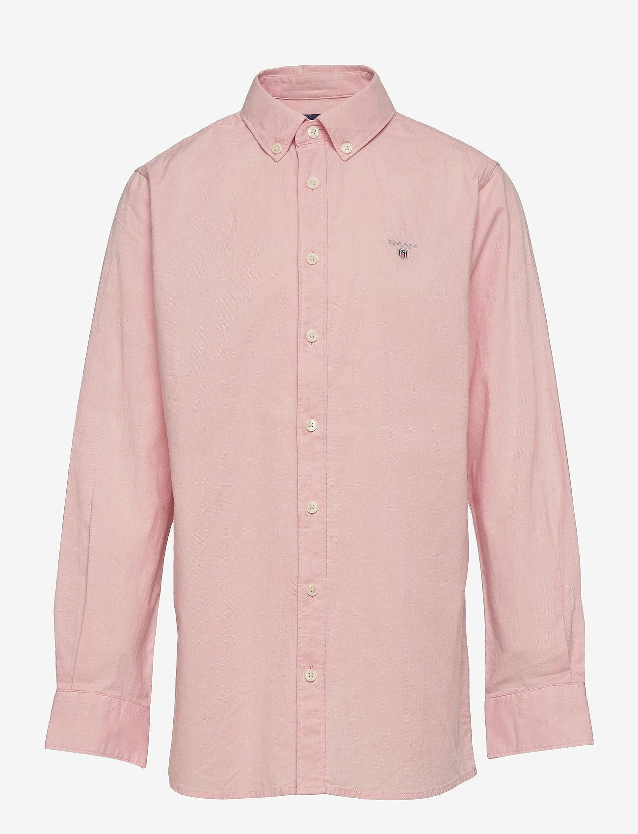 GANT - ARCHIVE OXFORD B.D SHIRT - shirts - quartz pink - 0