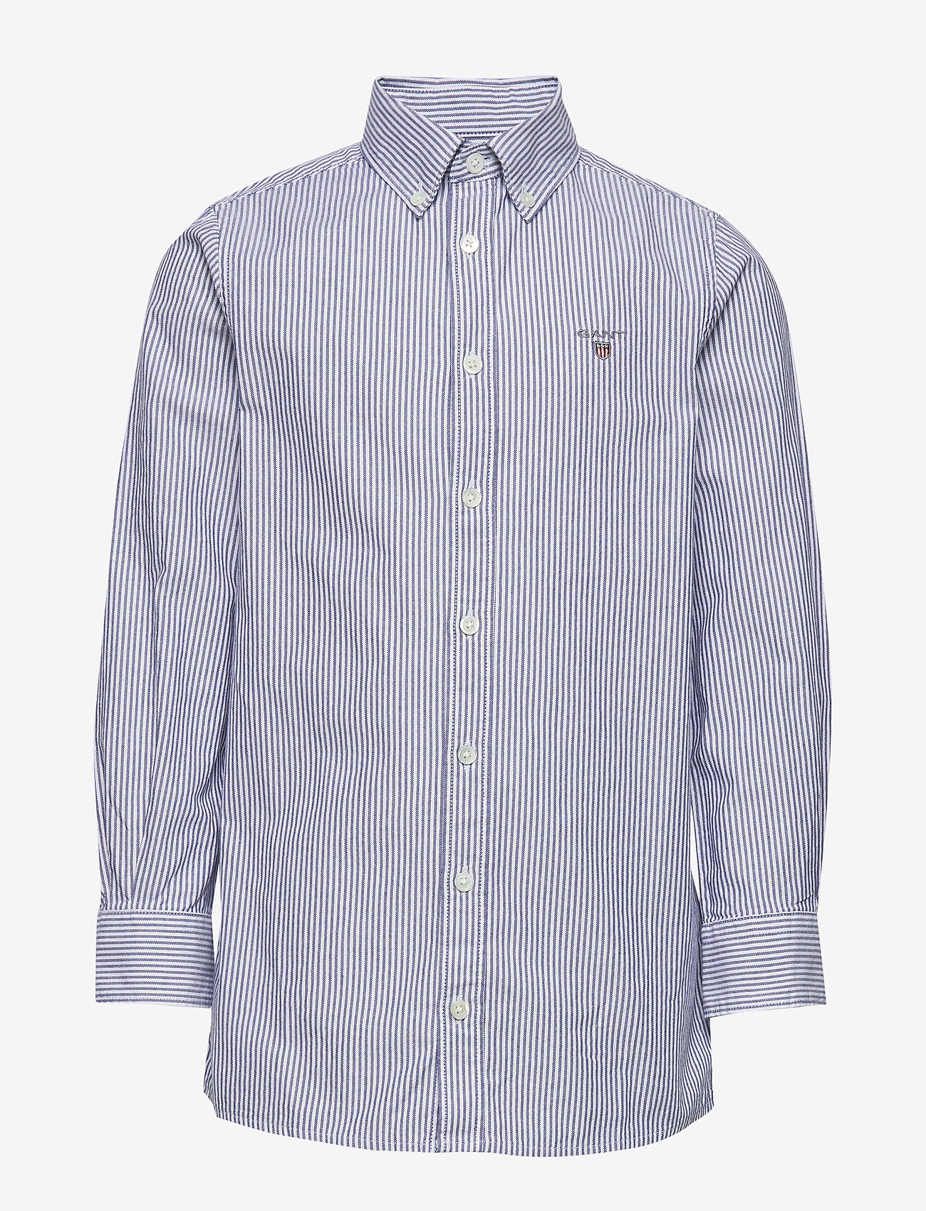 GANT - ARCHIVE OXFORD STRIPE BD SHIRT - shirts - college blue - 0