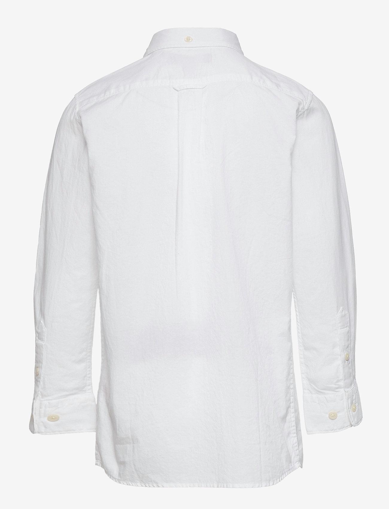 GANT - THE ORIGINAL TWILL SHIRT - overhemden - white - 1