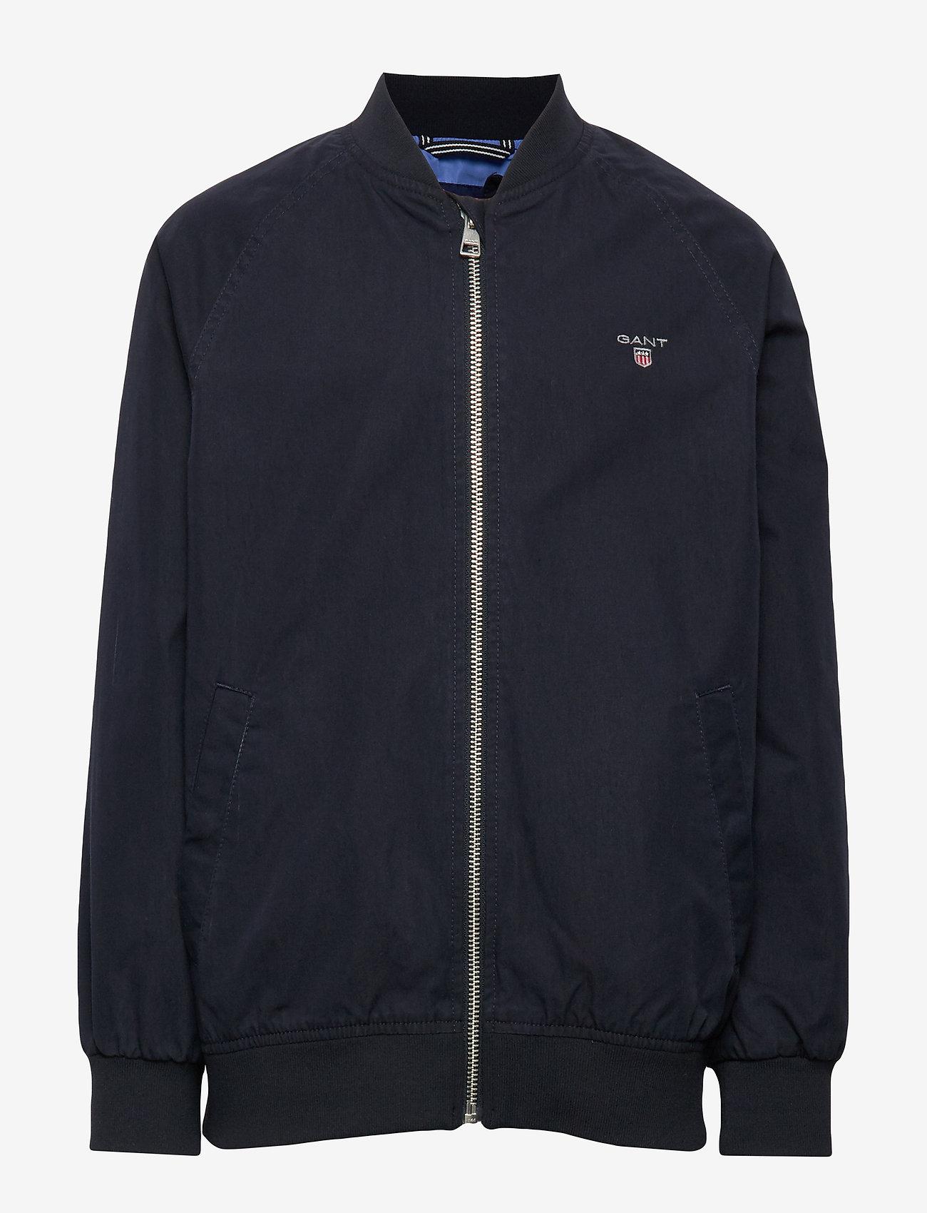 Gant - D1. THE ORIGINAL RIBBED JACKET - bomber jackets - evening blue