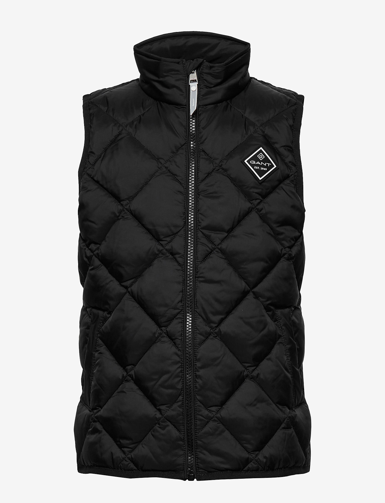 GANT - D1. DIAMOND PUFFER VEST - vests - black - 1