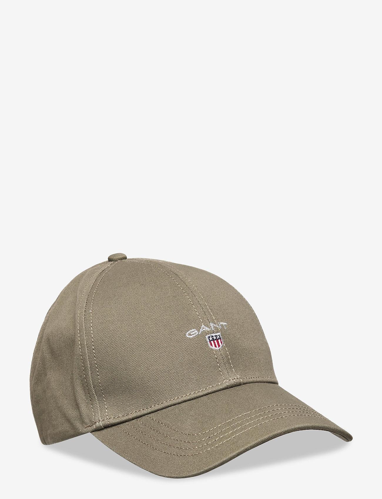 GANT - HIGH COTTON TWILL CAP - caps - dark leaf - 0