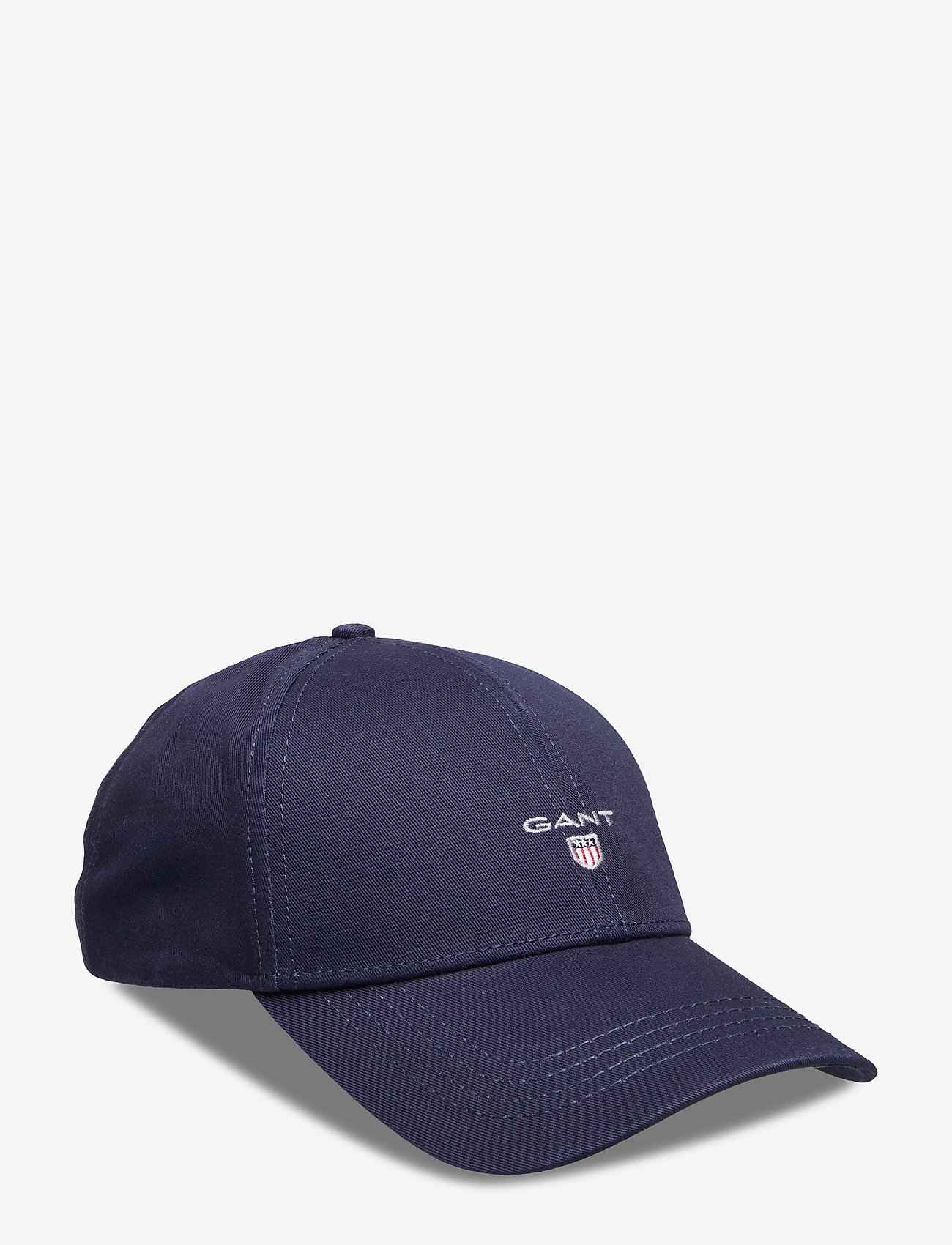 GANT - HIGH COTTON TWILL CAP - caps - marine - 0