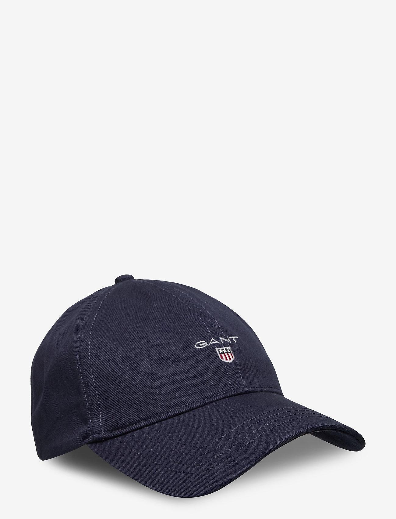 GANT - COTTON TWILL CAP - caps - marine - 0