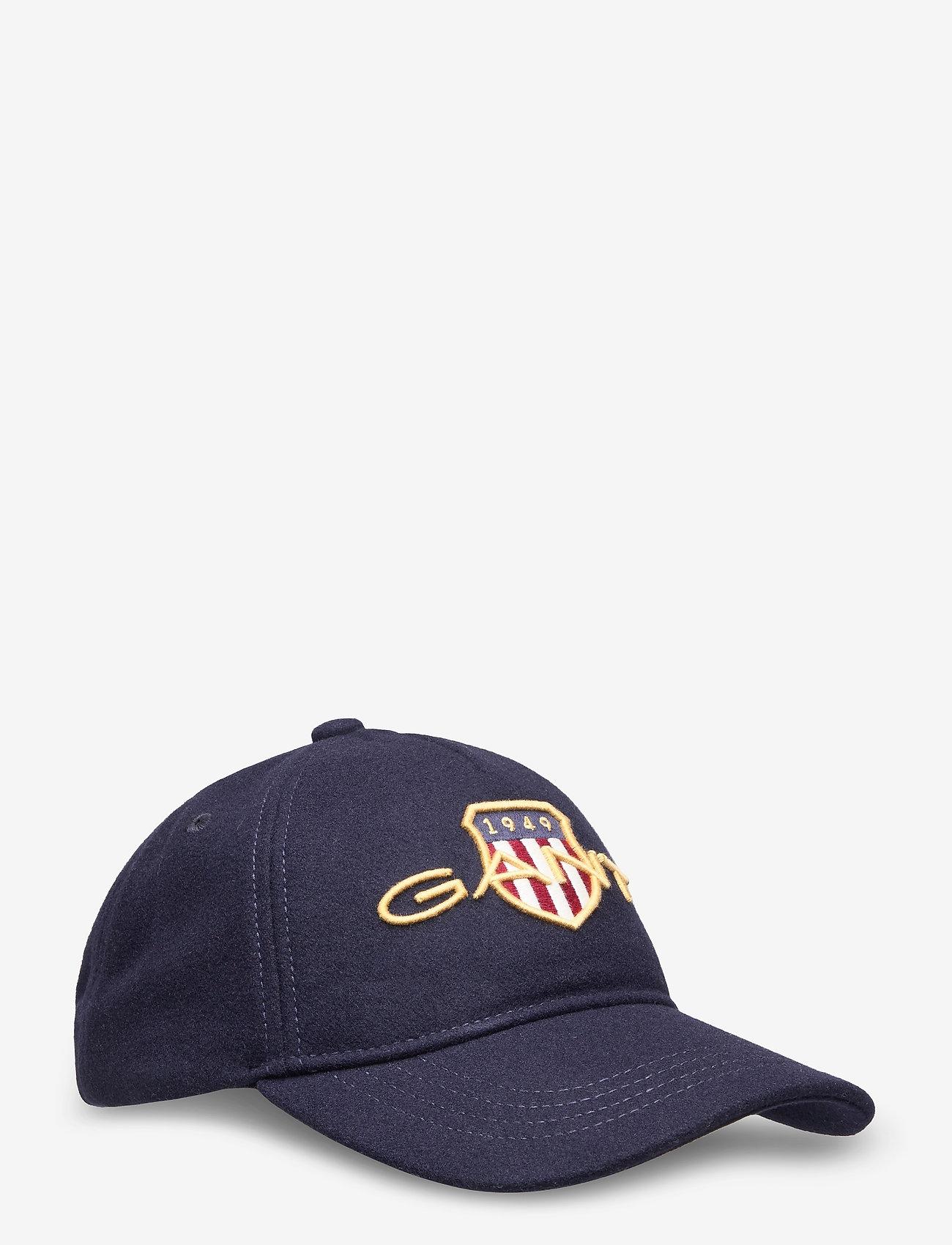 GANT - D1. GANT ARCHIVE SHIELD CAP - caps - classic blue - 0
