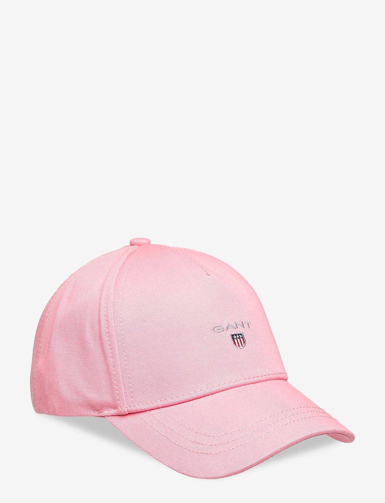 GANT - ORIGINAL SHIELD CAP - caps - strawberry pink - 0