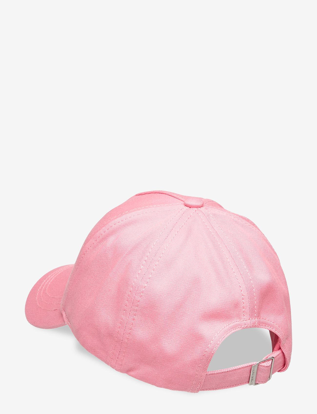 GANT - ORIGINAL SHIELD CAP - caps - strawberry pink - 1