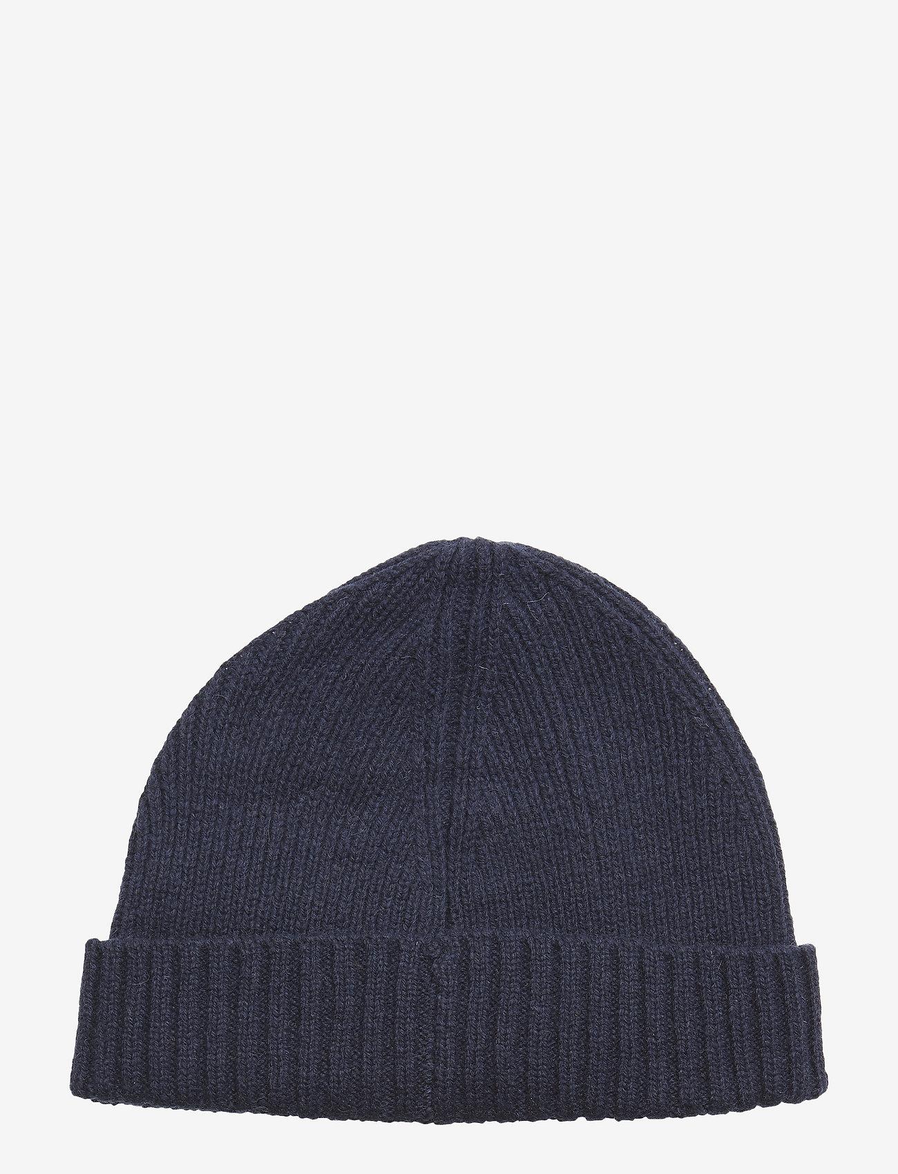 GANT - WOOL LINED BEANIE - bonnet - marine - 1