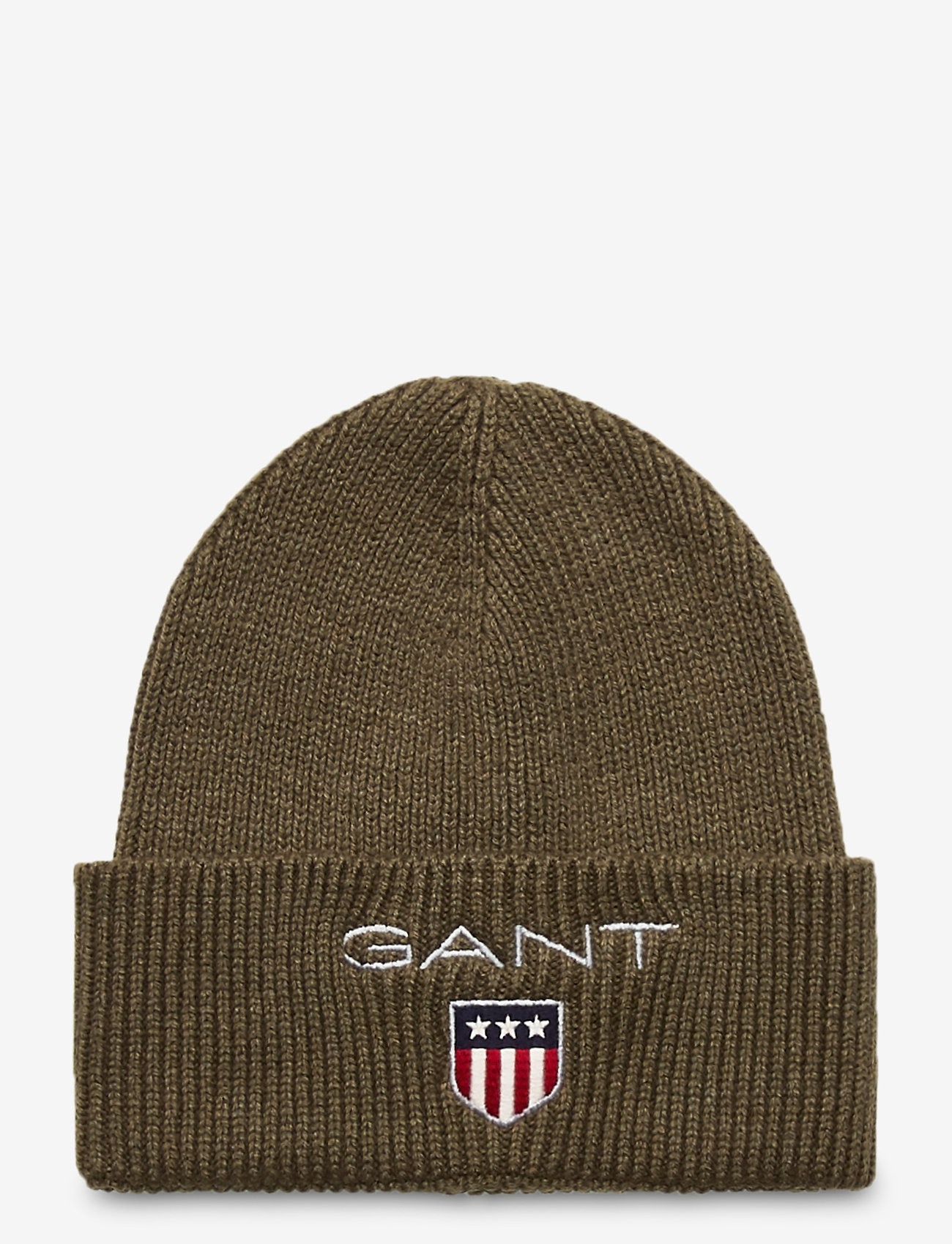 GANT - D1. MEDIUM SHIELD RIB BEANIE - mützen - sea turtle - 0