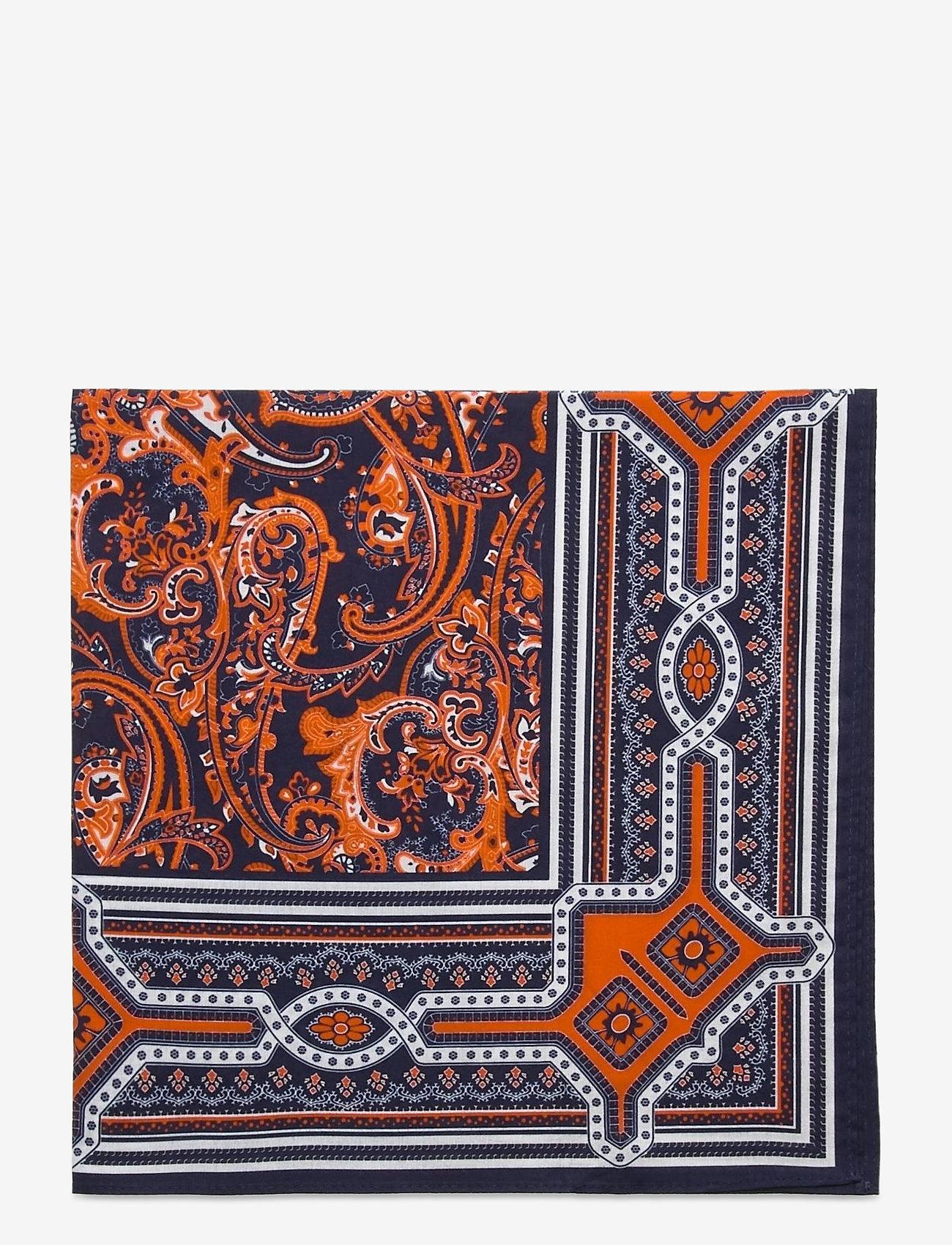 GANT - D1. COTTON BANDANA - scarves - dark orange - 1