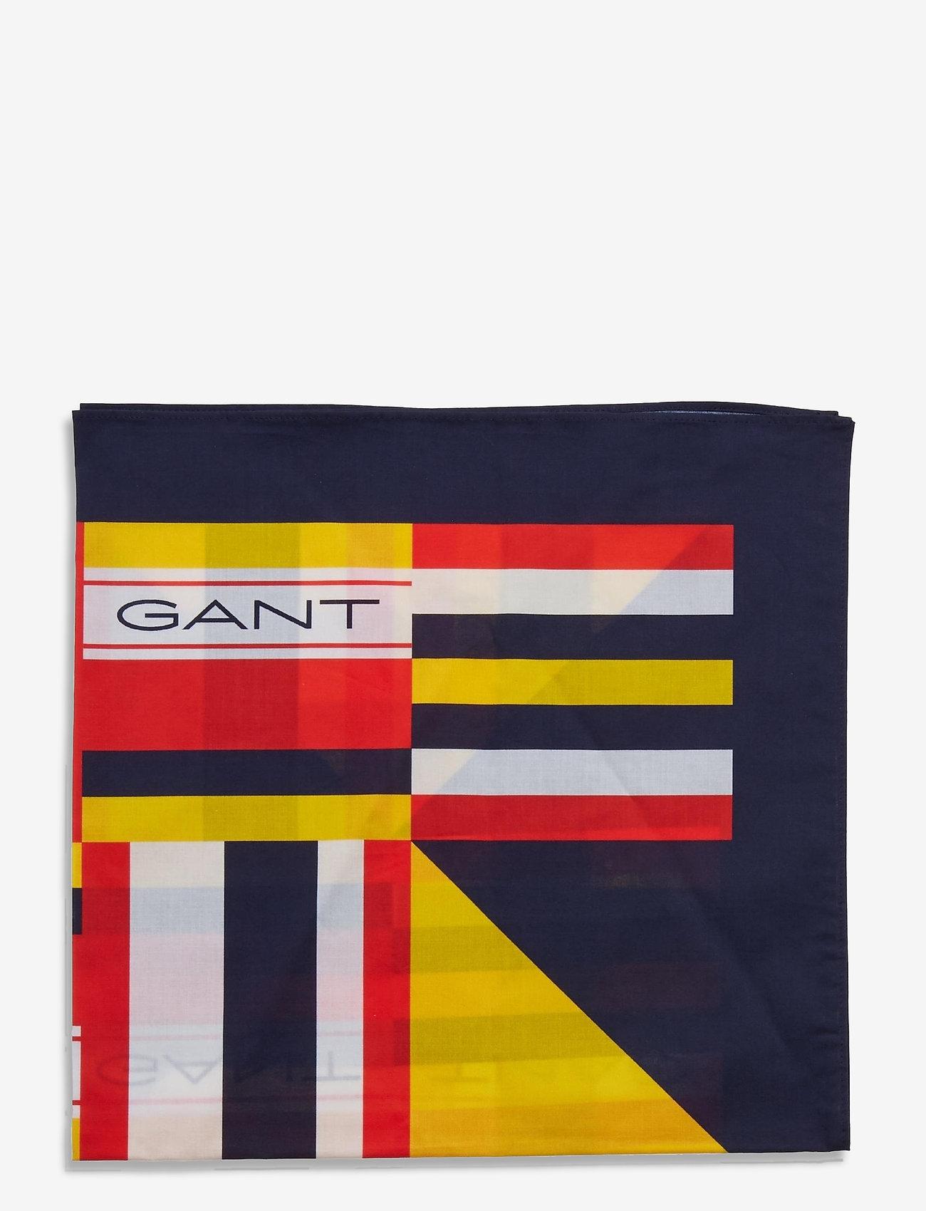 GANT - D1. RW BANDANA - scarves - classic blue - 1