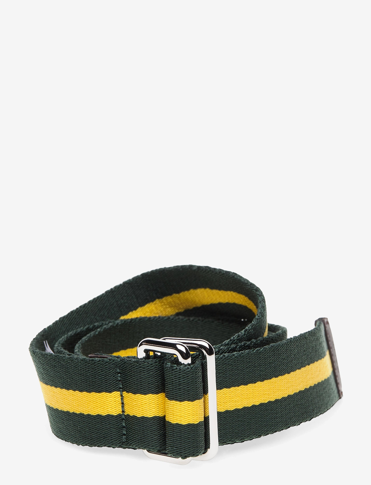 GANT - D1. RUGBY STRIPE WEBBING BELT - belts - kelly green - 0