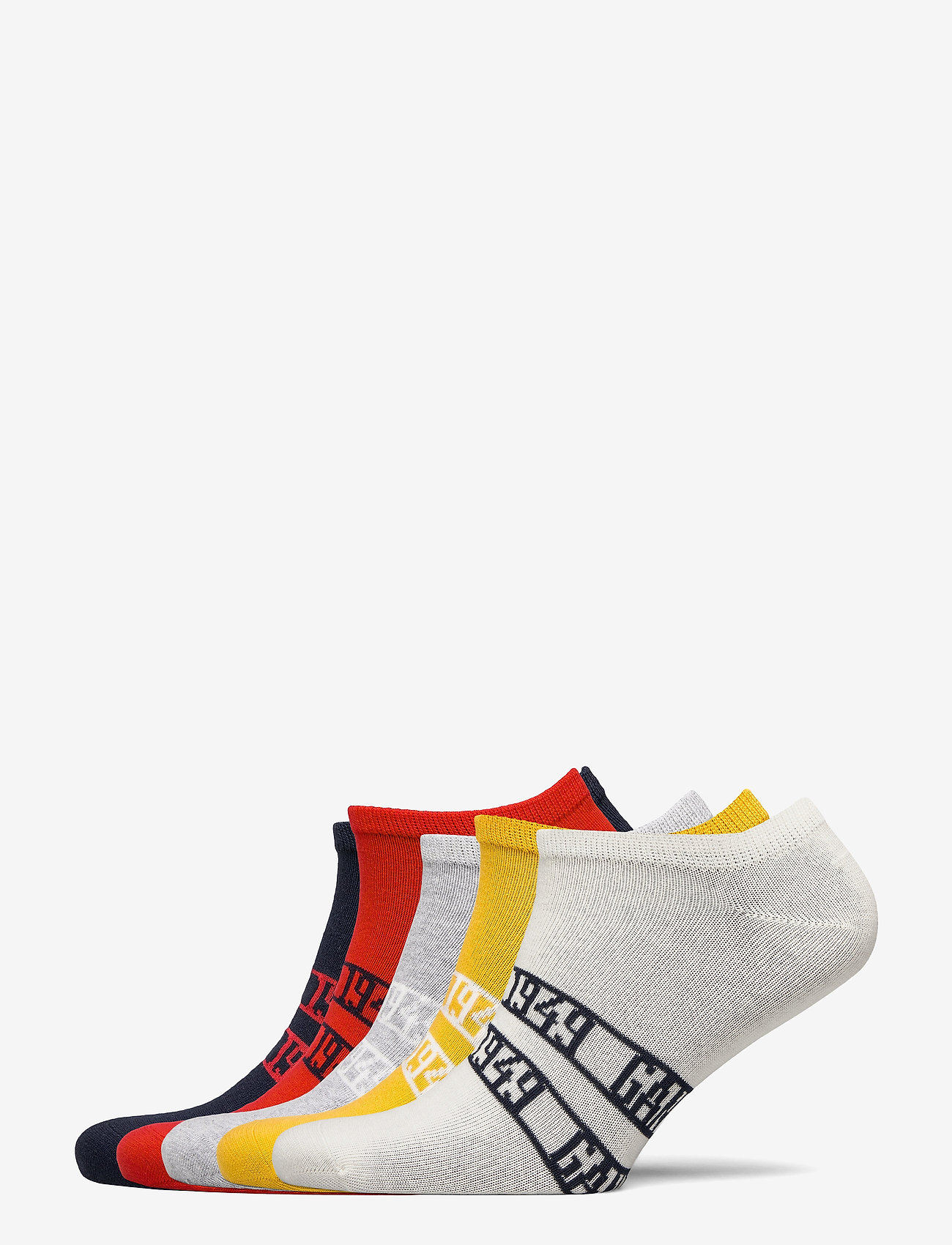 GANT - D1. 5-PACK GANT SNEAKER SOCKS - socks - atomic orange - 0