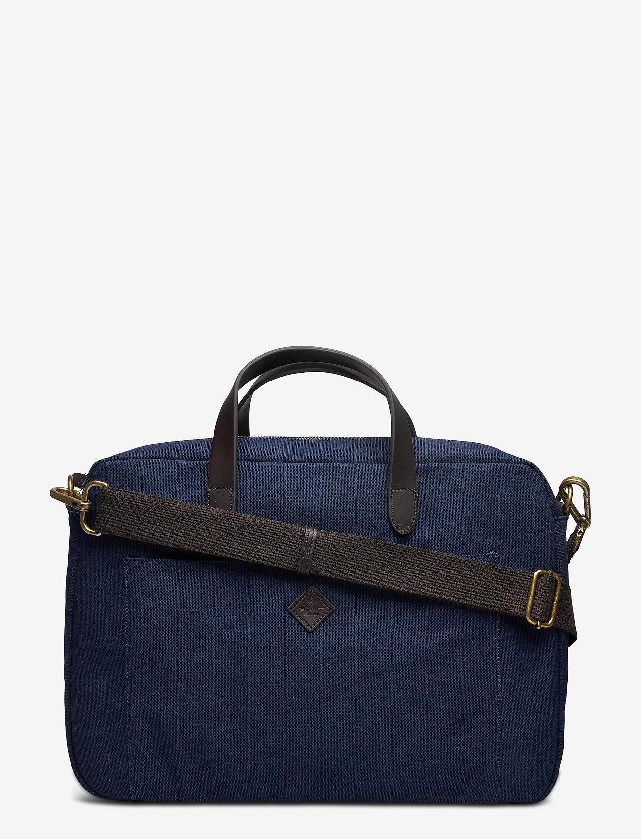 Gant - HOUSE OF GANT OFFICE BAG - sacs pour l'ordinateur - marine