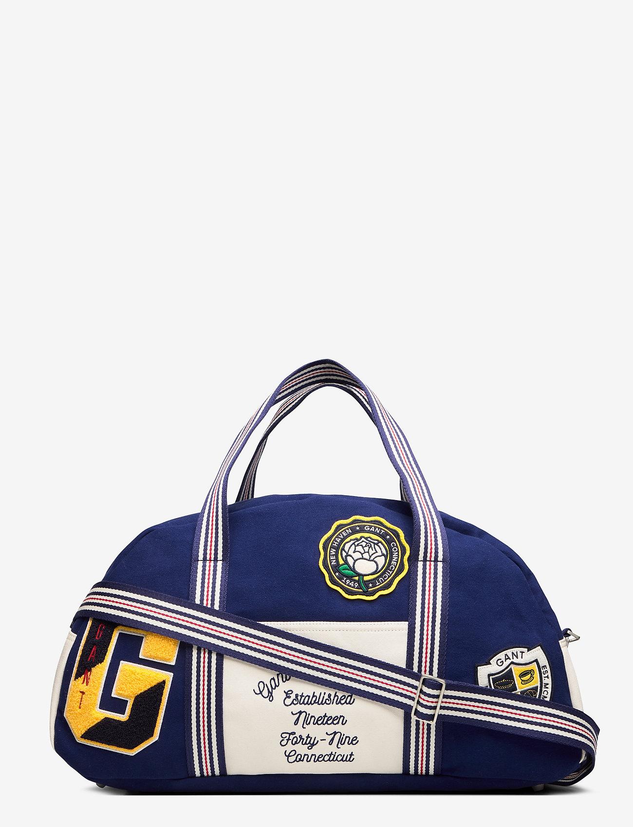 Gant - D1. THE GANT SPRING VARSITY BAG - sacs de voyage - deep blue