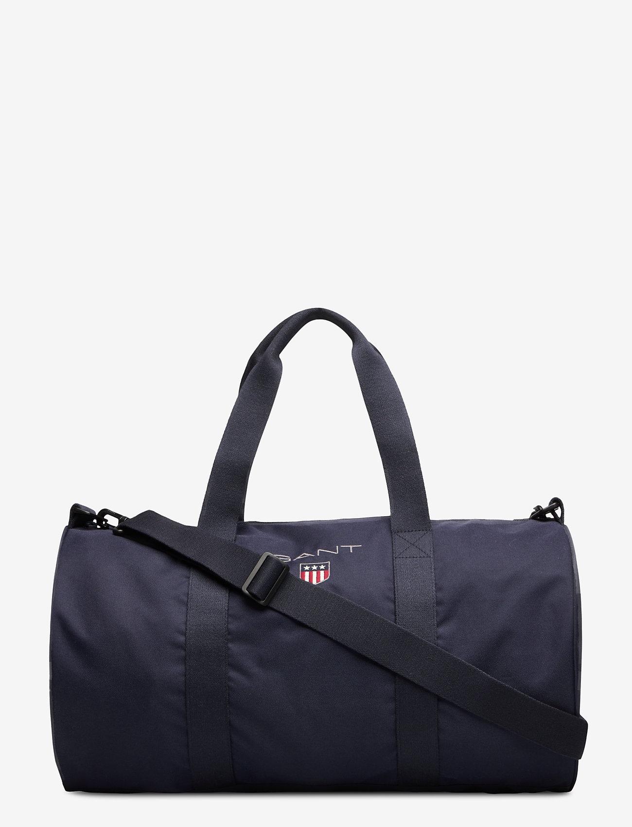 GANT - D1. MEDIUM SHIELD GYM BAG - totes & small bags - evening blue - 1
