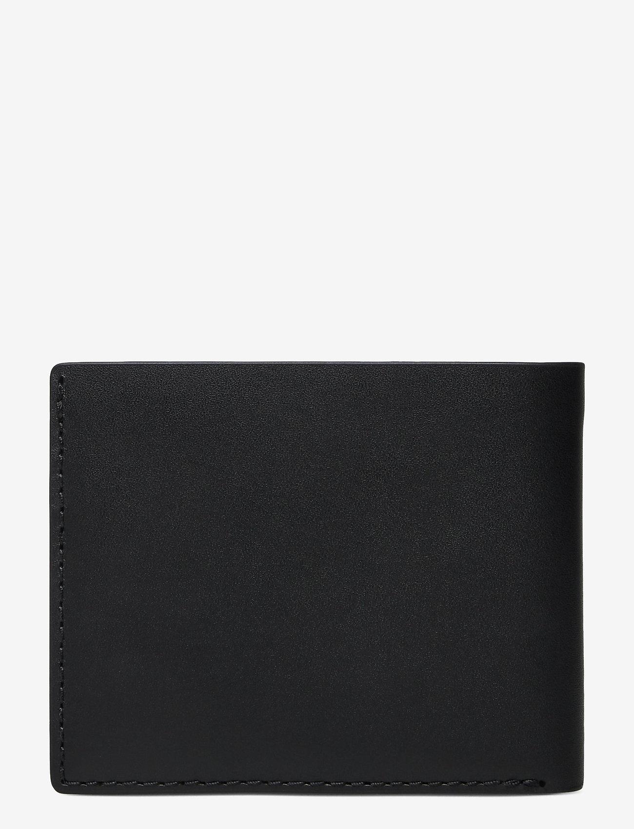 GANT - D1. LEATHER WALLET - wallets - black - 1