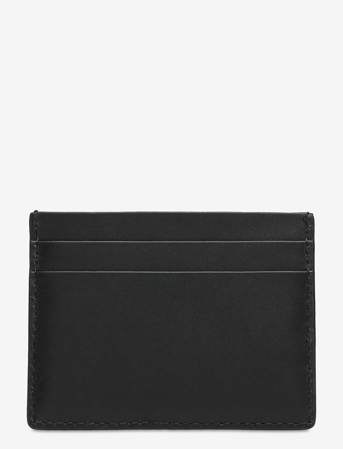 GANT - D1. LEATHER CARDHOLDER - cardholder - black - 1