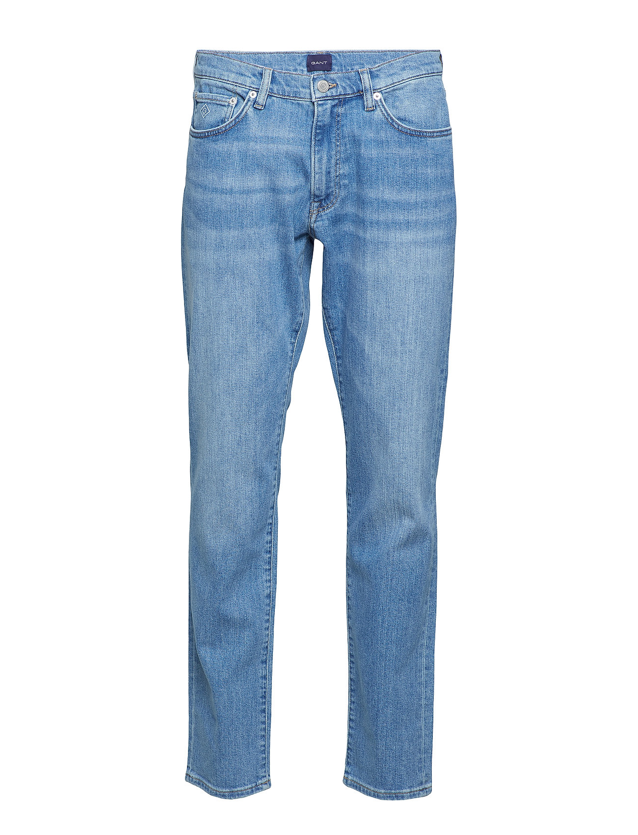 GANT SLIM GANT JEANS - LIGHT BLUE WORN IN
