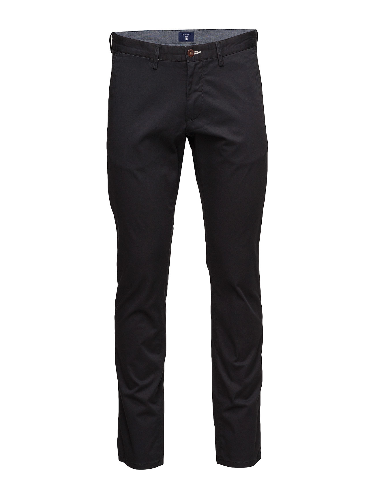 Gant SLIM TWILL CHINOS - BLACK
