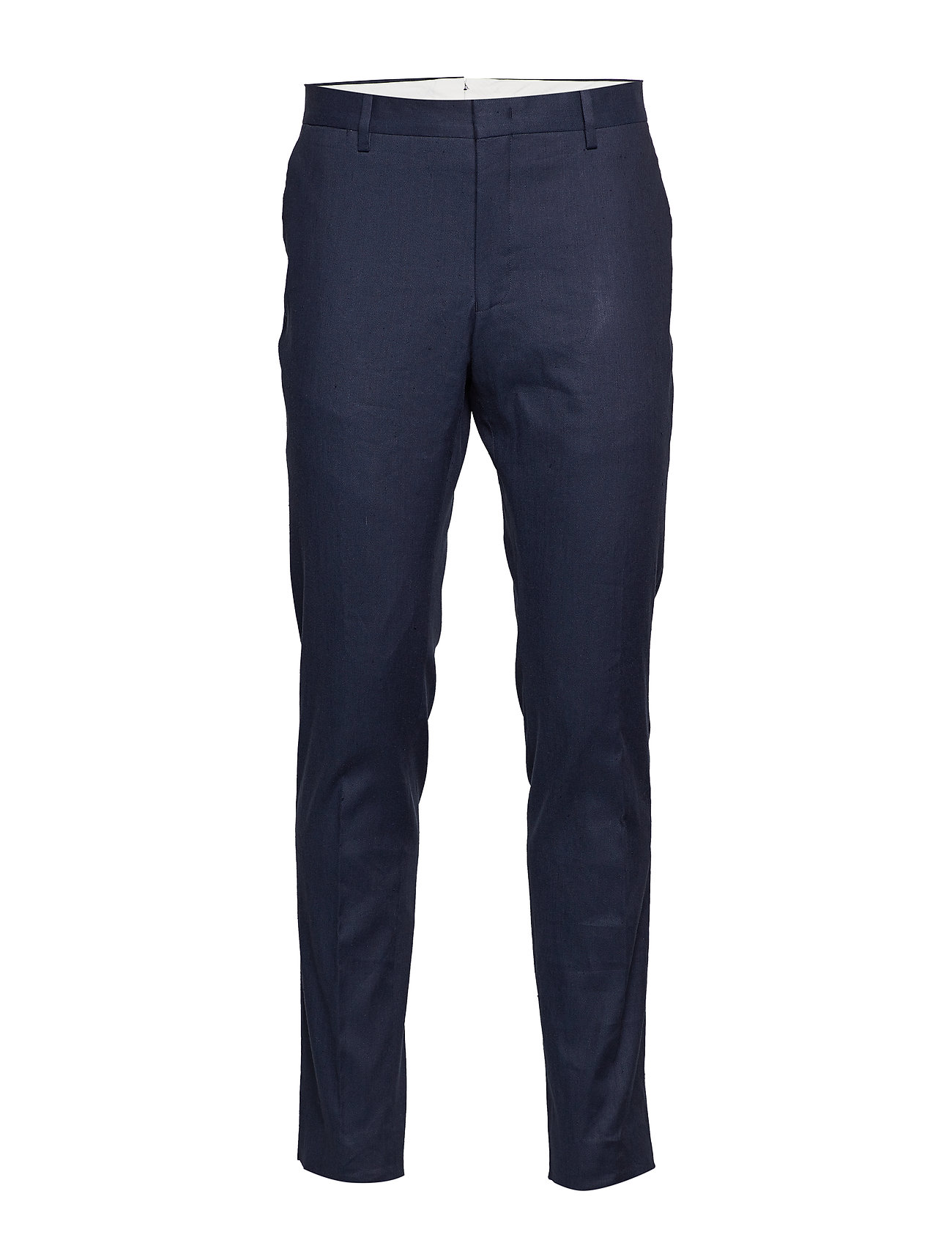 Gant G2. THE STRETCH LINEN SUIT PANT - MARINE