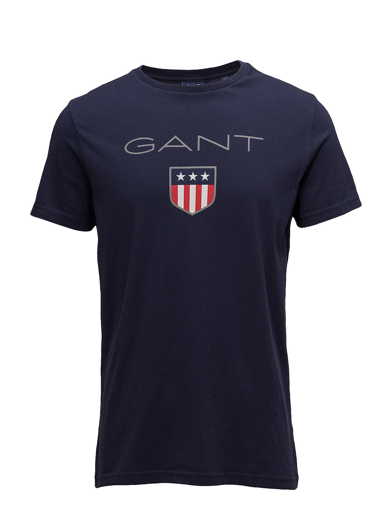 Gant SHIELD SS T-SHIRT - EVENING BLUE