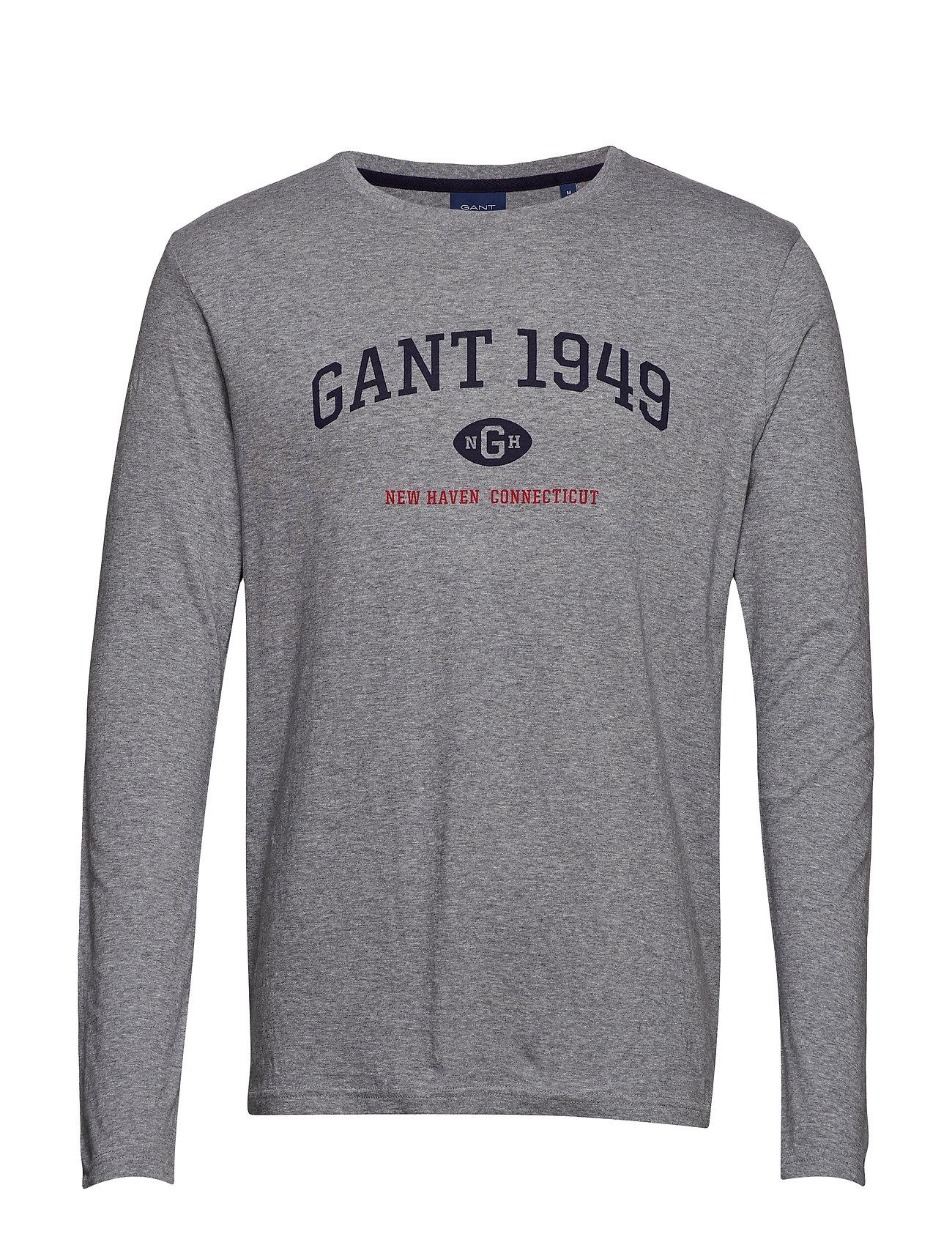 Gant D1. GANT 1949 LS - GREY MELANGE