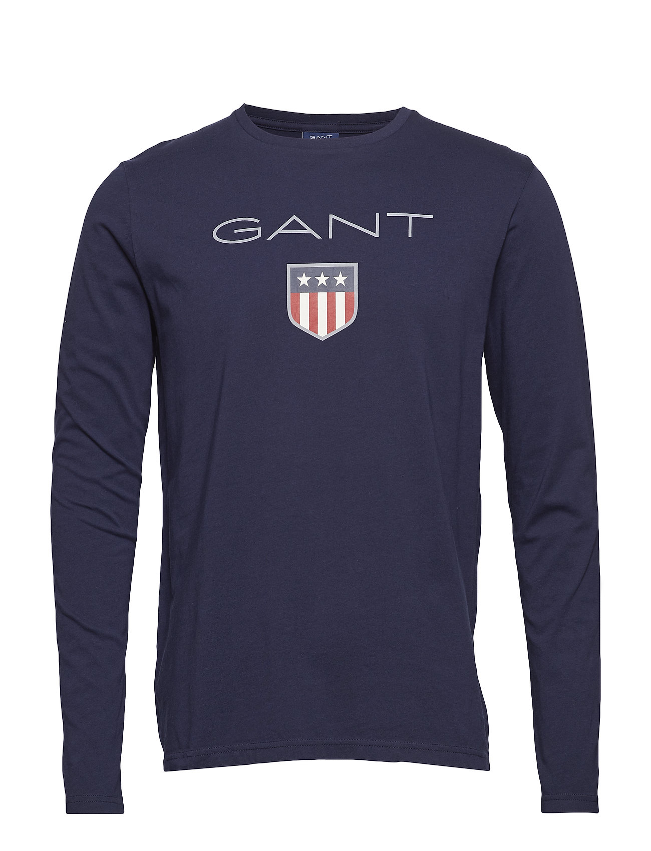 GANT SHIELD LS T-SHIRT - EVENING BLUE
