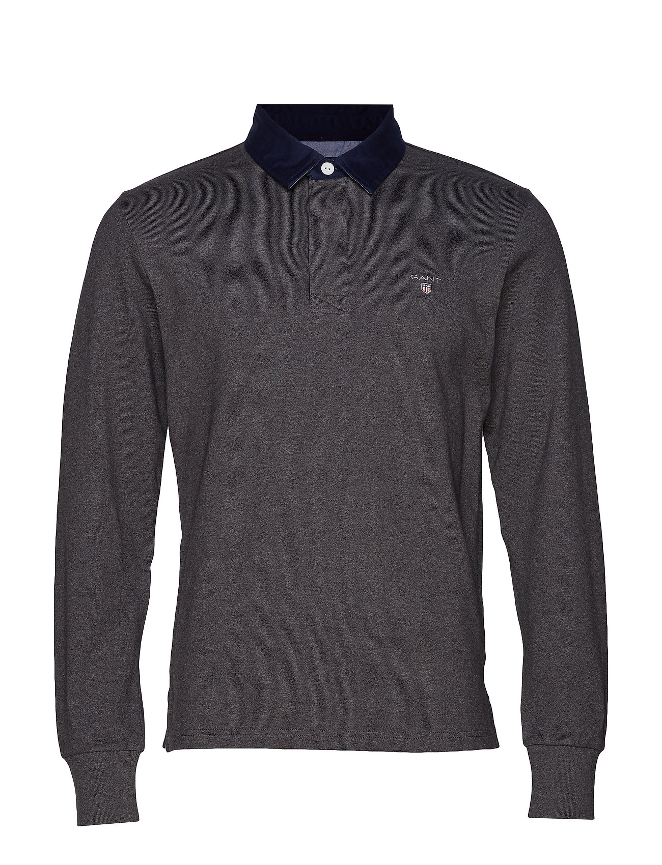 GANT THE ORIGINAL HEAVY RUGGER - CHARCOAL MELANGE