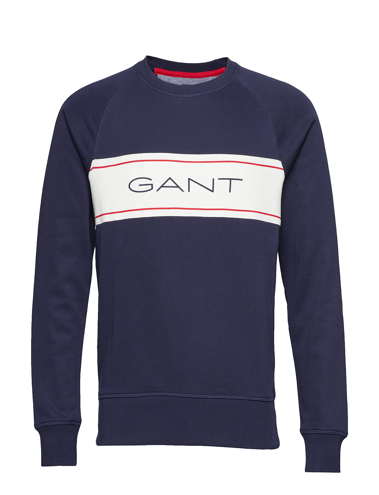 GANT O1.GANT ARCHIVE STRIPE C-NECK SWEAT