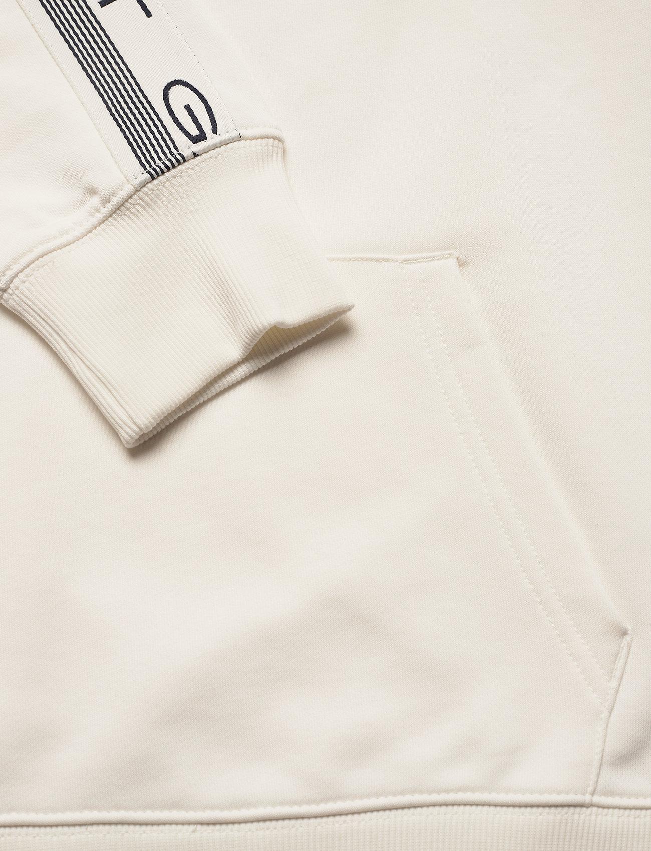 GANT D1. 13 STRIPES SWEAT HOODIE - Sweatshirts EGGSHELL - Menn Klær