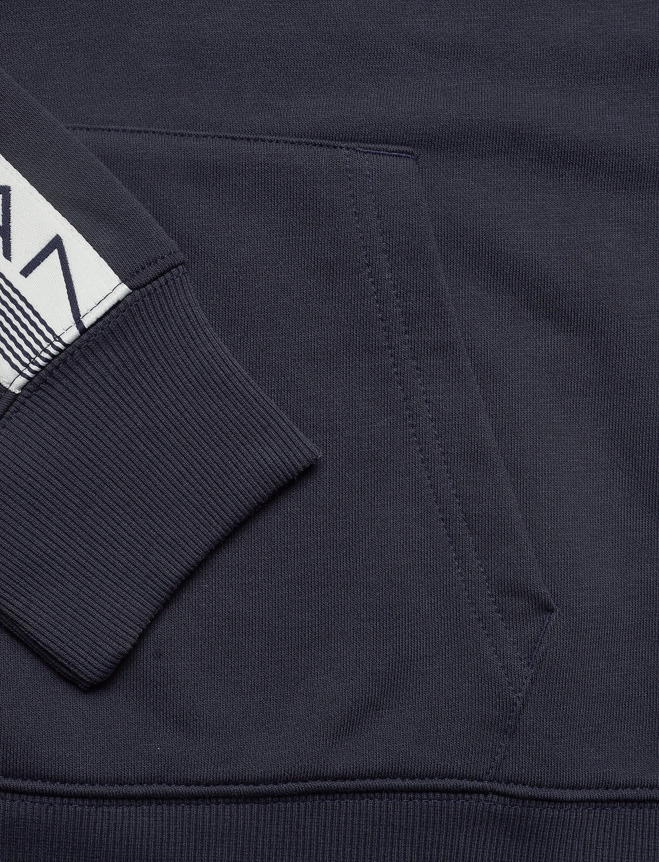 GANT D1. 13 STRIPES SWEAT HOODIE - Sweatshirts EVENING BLUE - Menn Klær