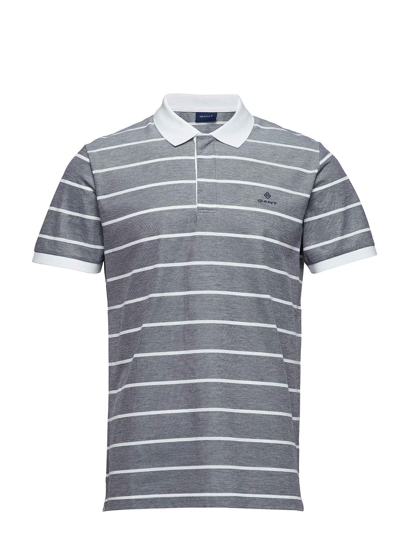 GANT O1. OXFORD STRIPE SS RUGGER