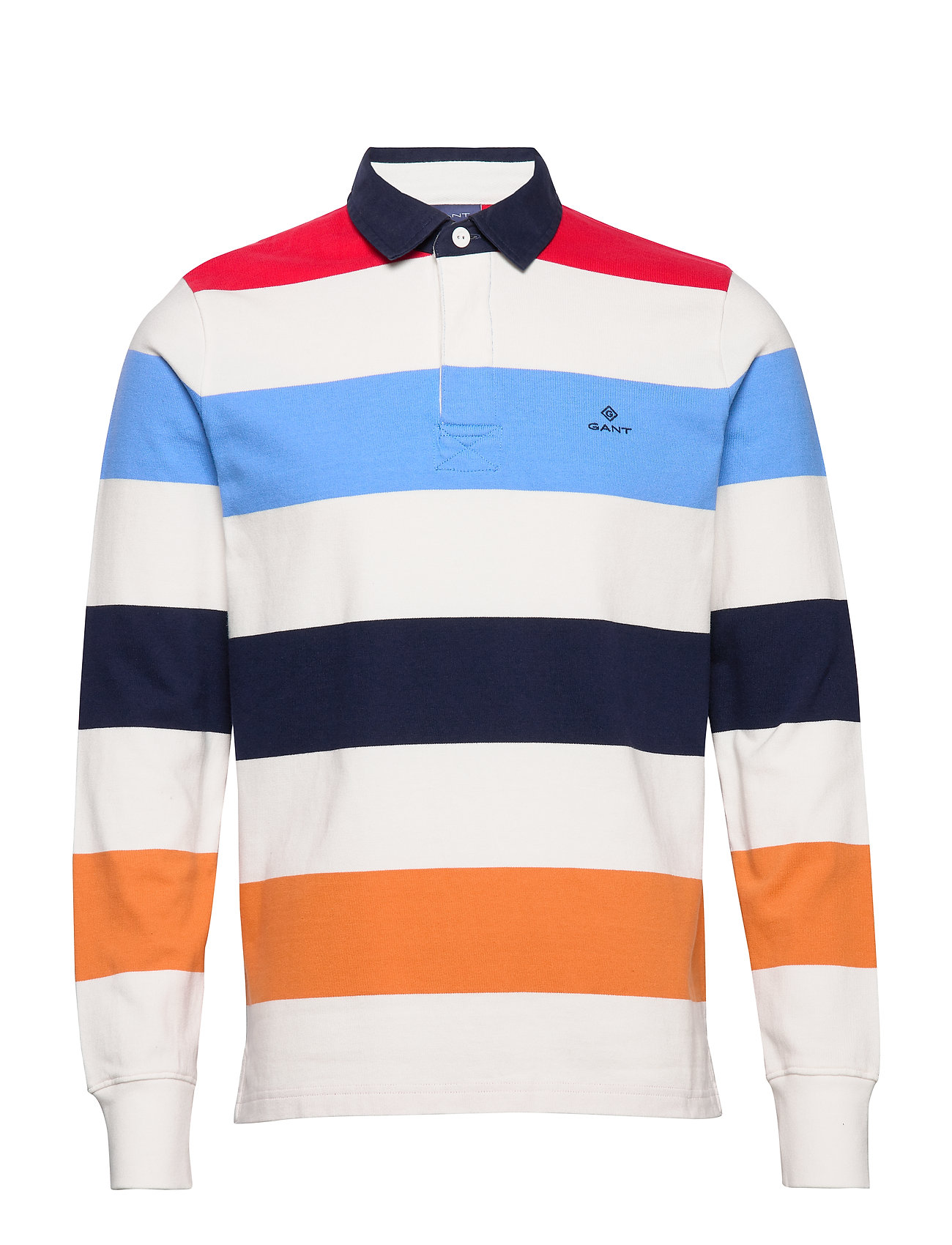 Gant D1. BLOCK STRIPE HEAVY RUGGER - EGGSHELL