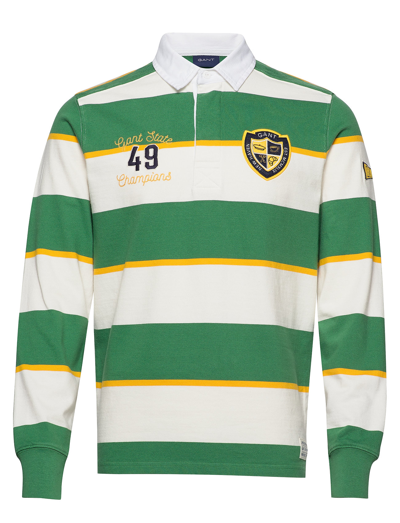 Gant D1. GANT VARSITY HEAVY RUGGER - LEAF GREEN