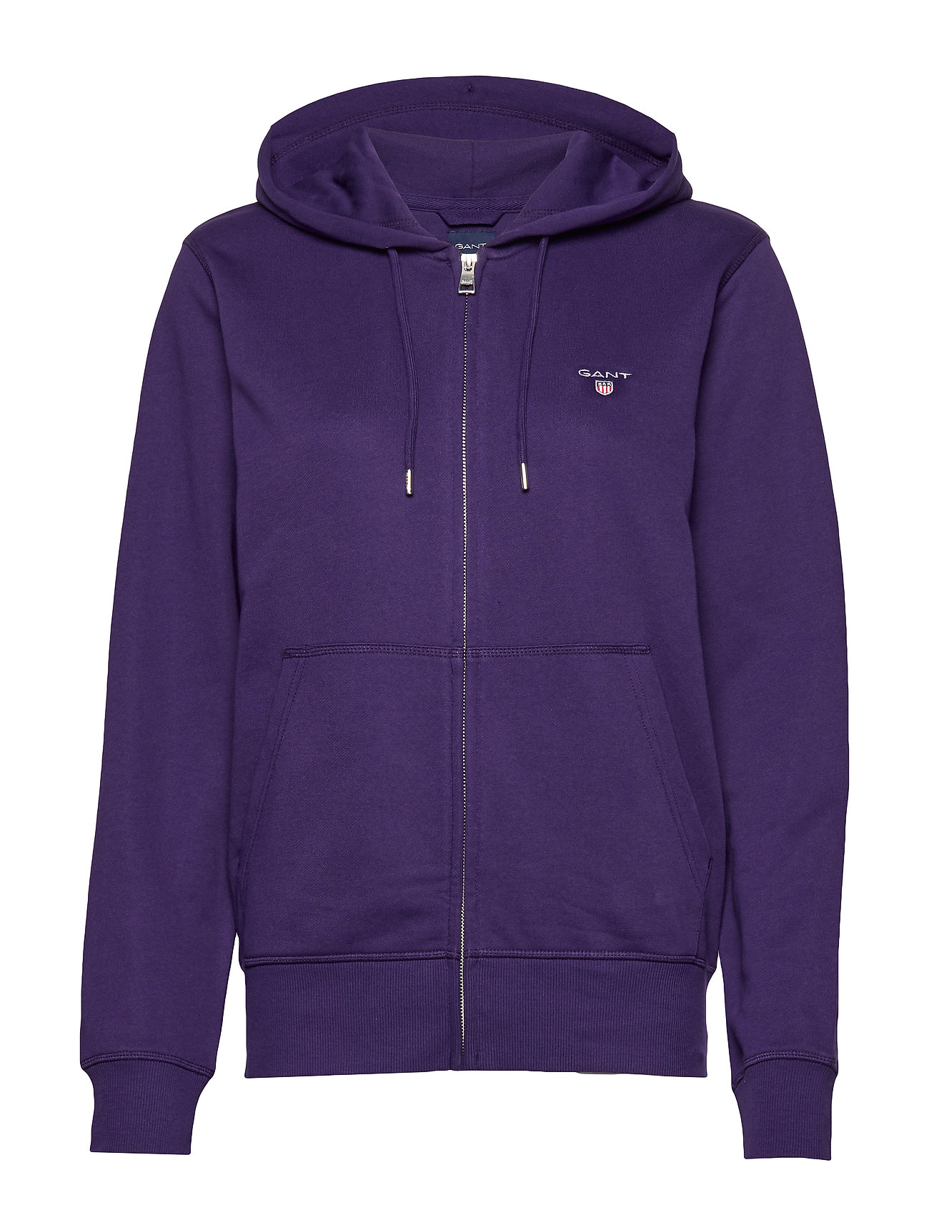 Gant THE ORIGINAL FULL ZIP HOODIE - PARACHUTE PURPLE