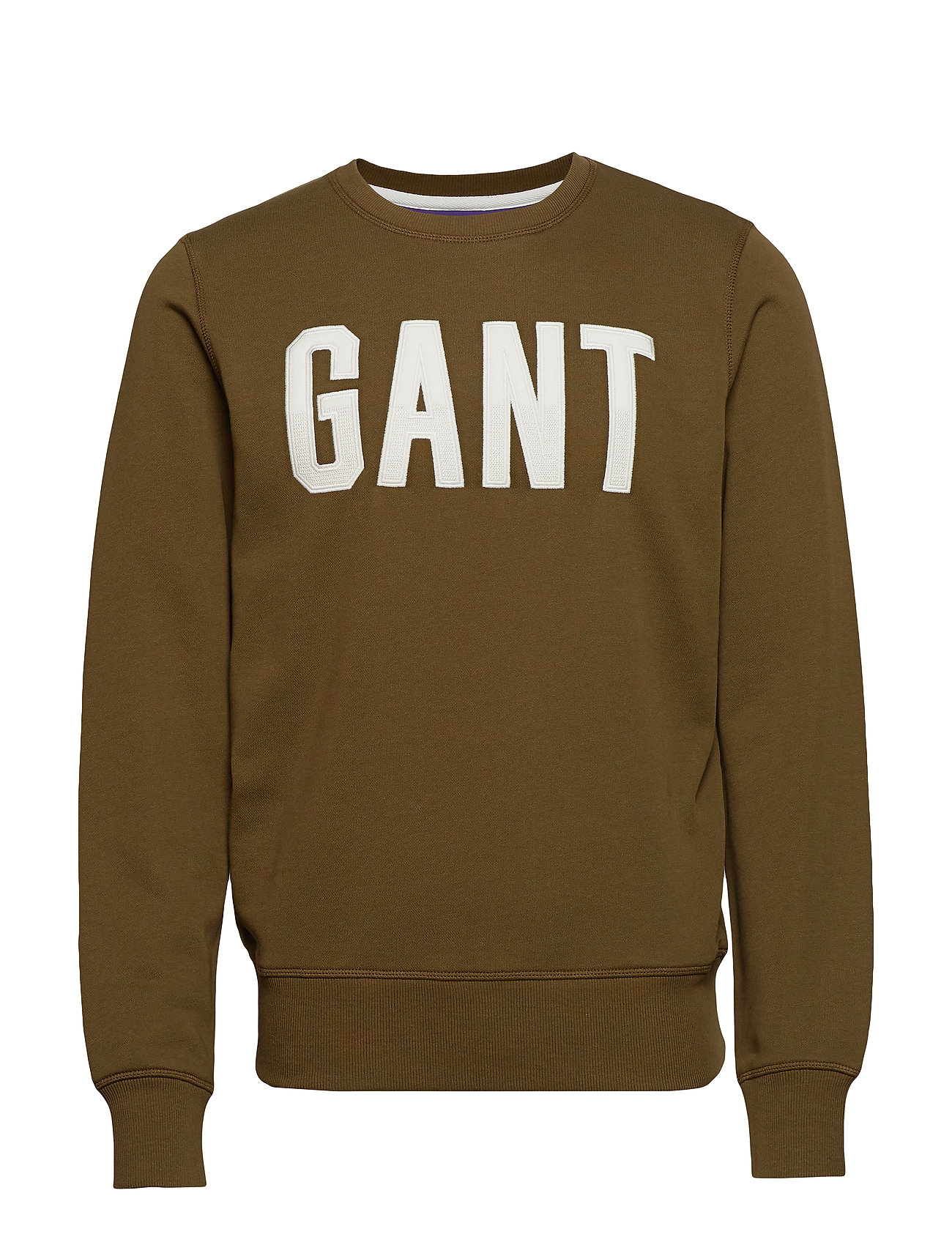 Gant D1. GRAPHIC C-NECK SWEAT - DARK CACTUS