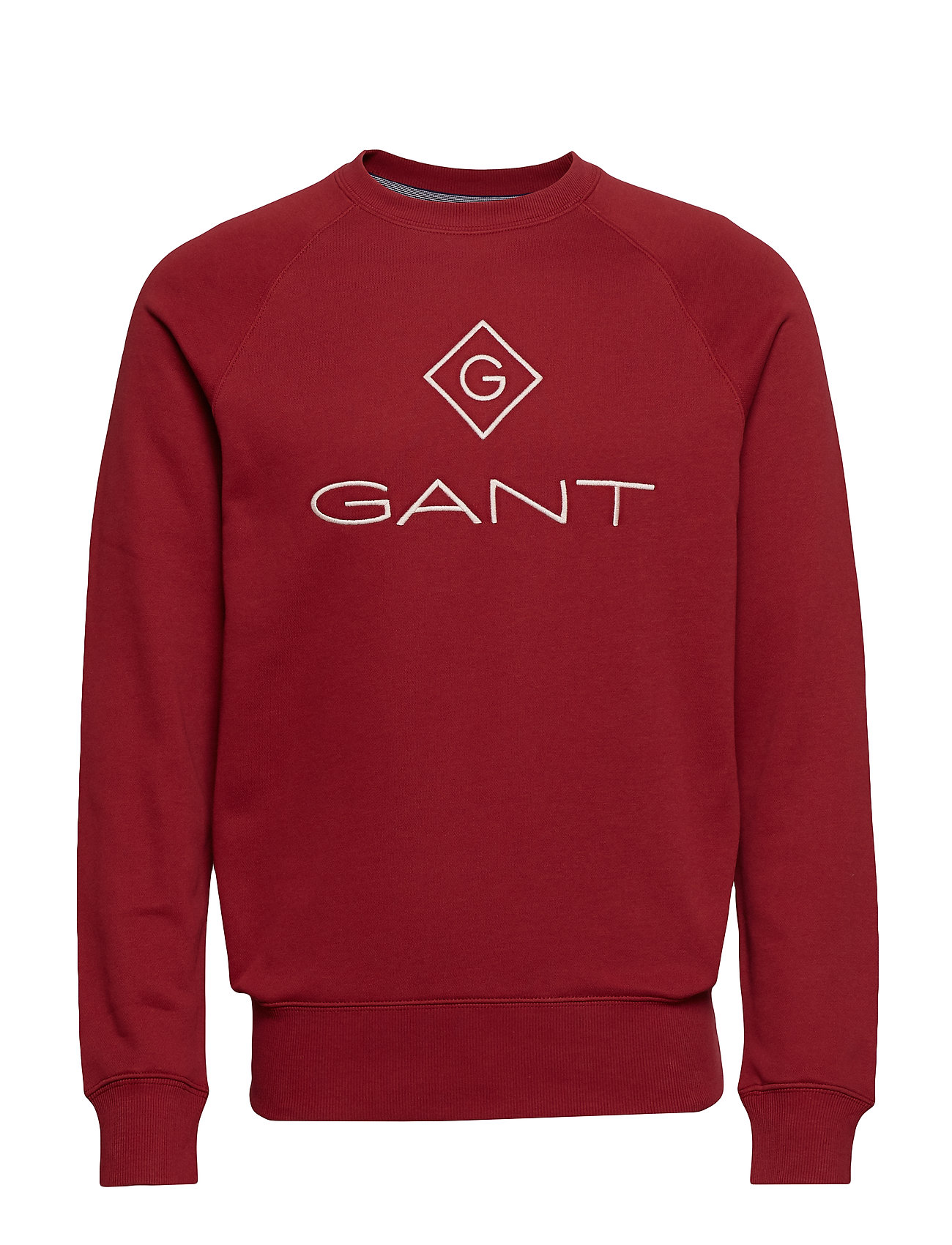 Gant GANT LOCK UP C-NECK SWEAT - MAHOGNY RED