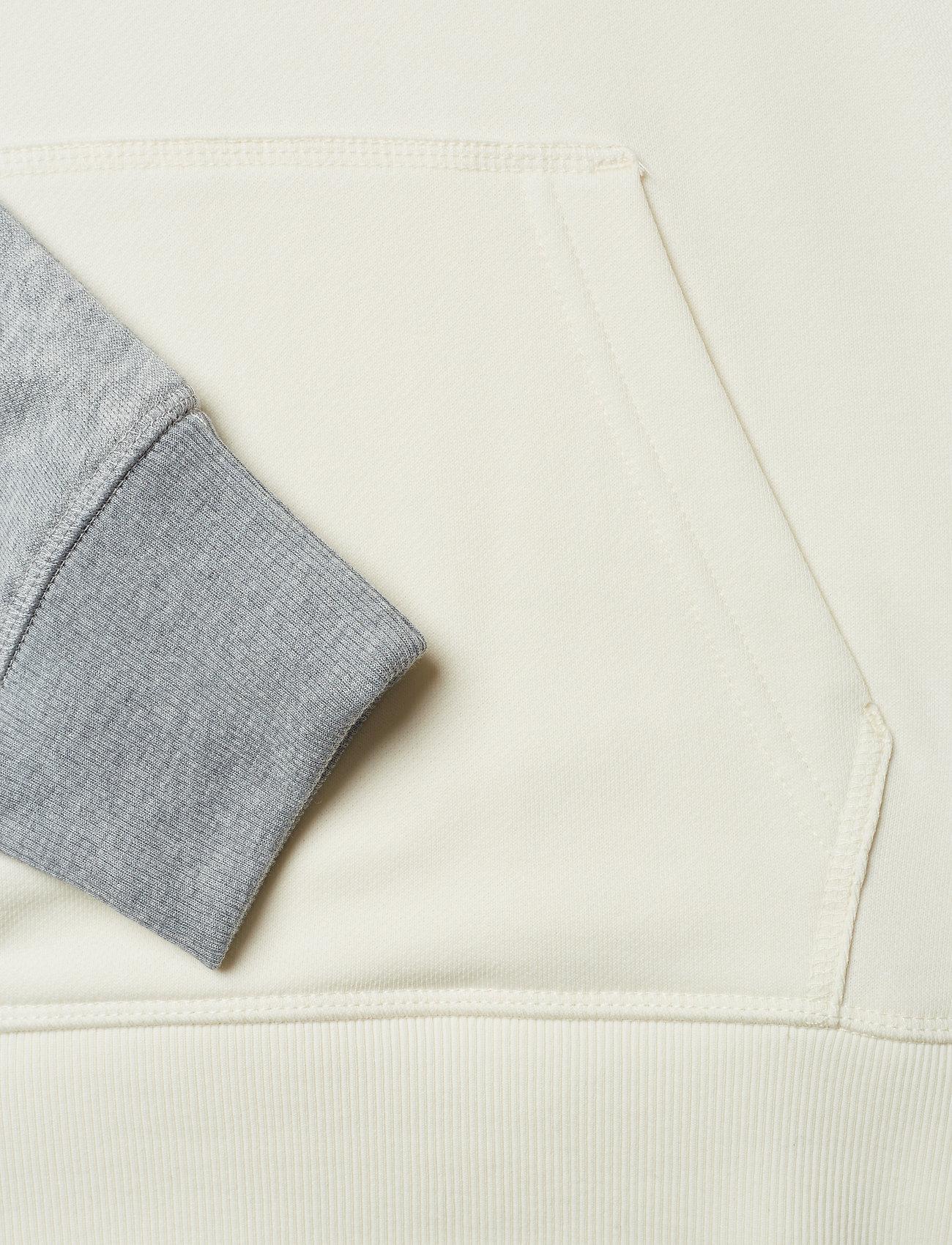 D1. Graphic Half Zip Hoodie (Cream) (975 kr) - GANT