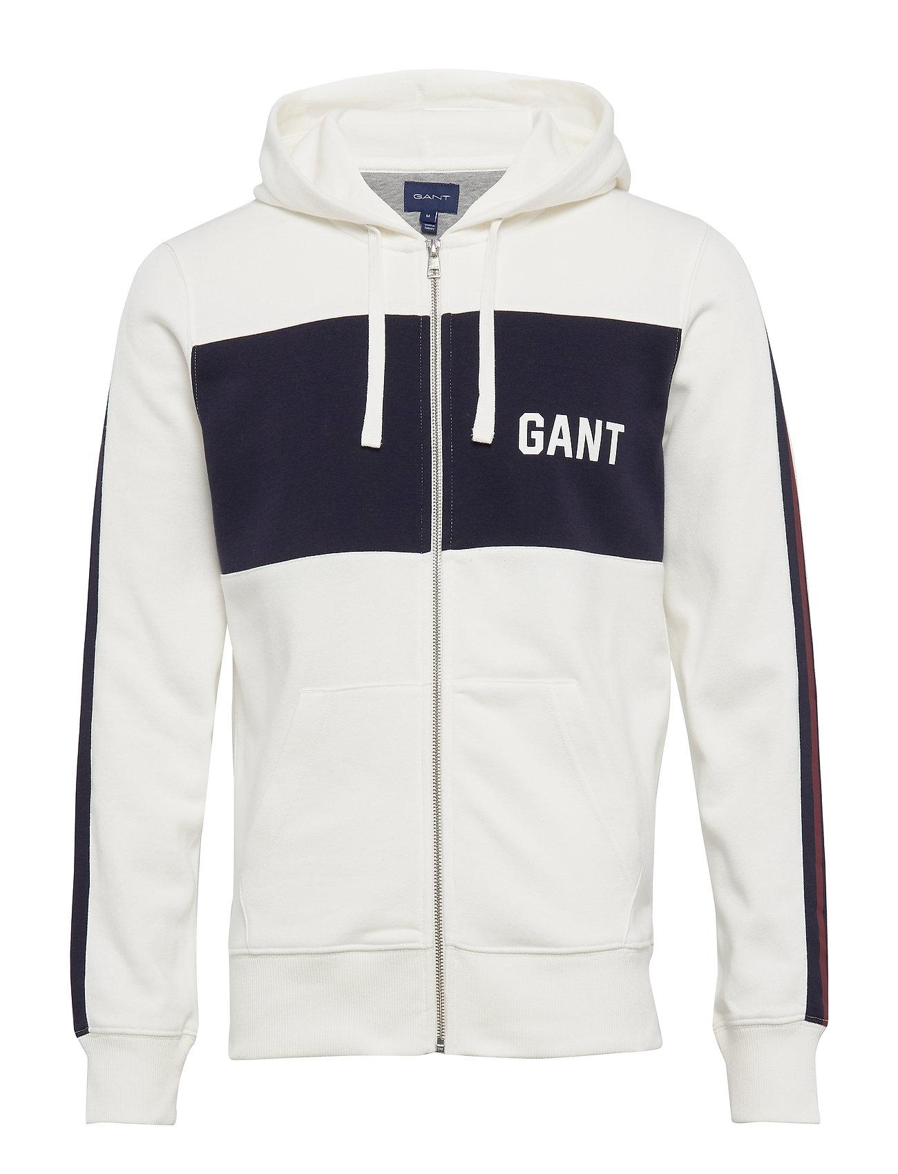 Gant D1. LOGO SWEAT HOODIE - EGGSHELL