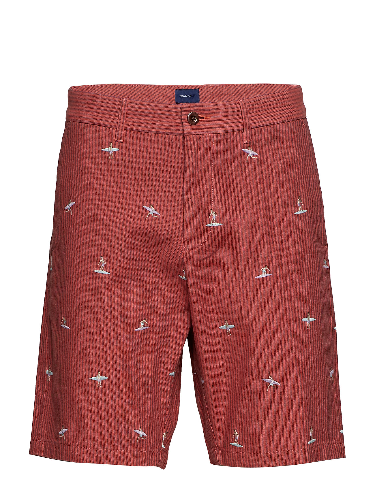 Gant O2. THE SURFER SHORT - MINERAL RED