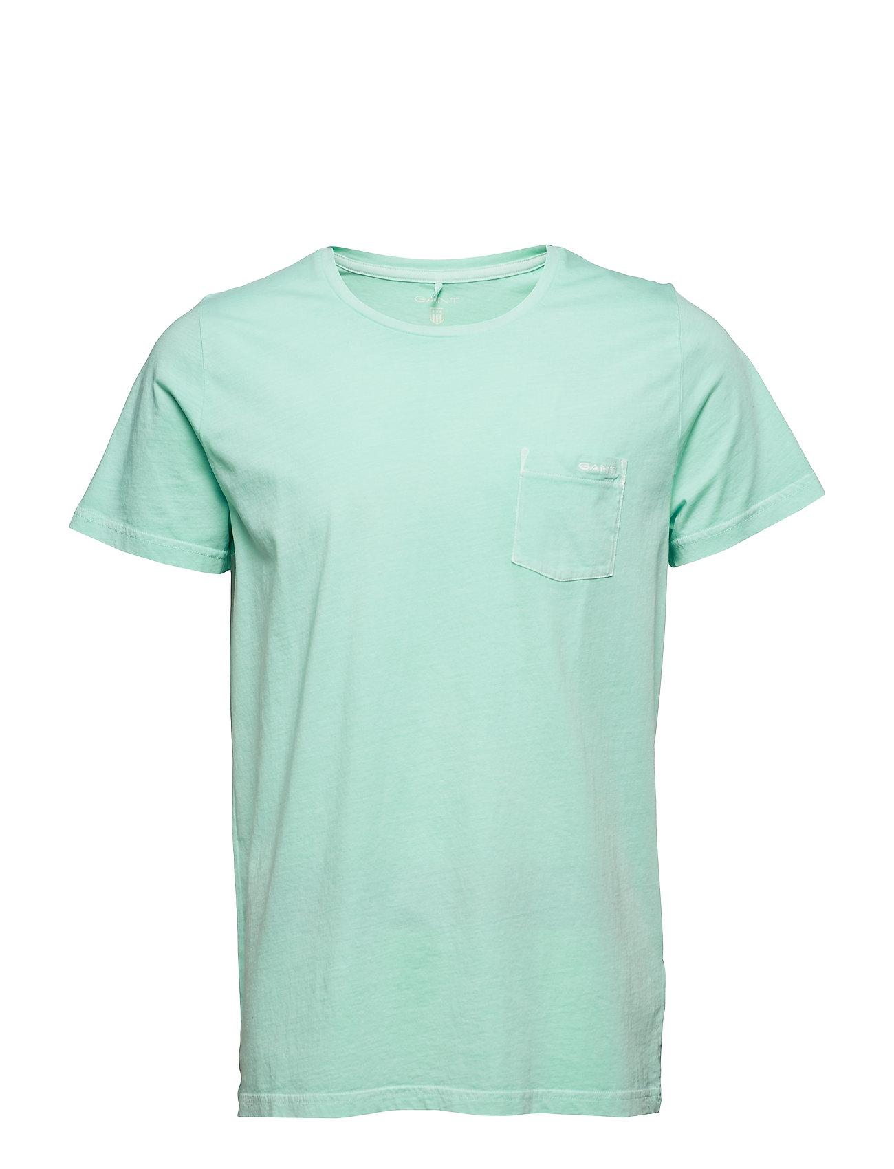 da2e4333 GANT kortærmede t-shirts – D2. Sunfaded Ss T-Shirt til herre i Hvid ...