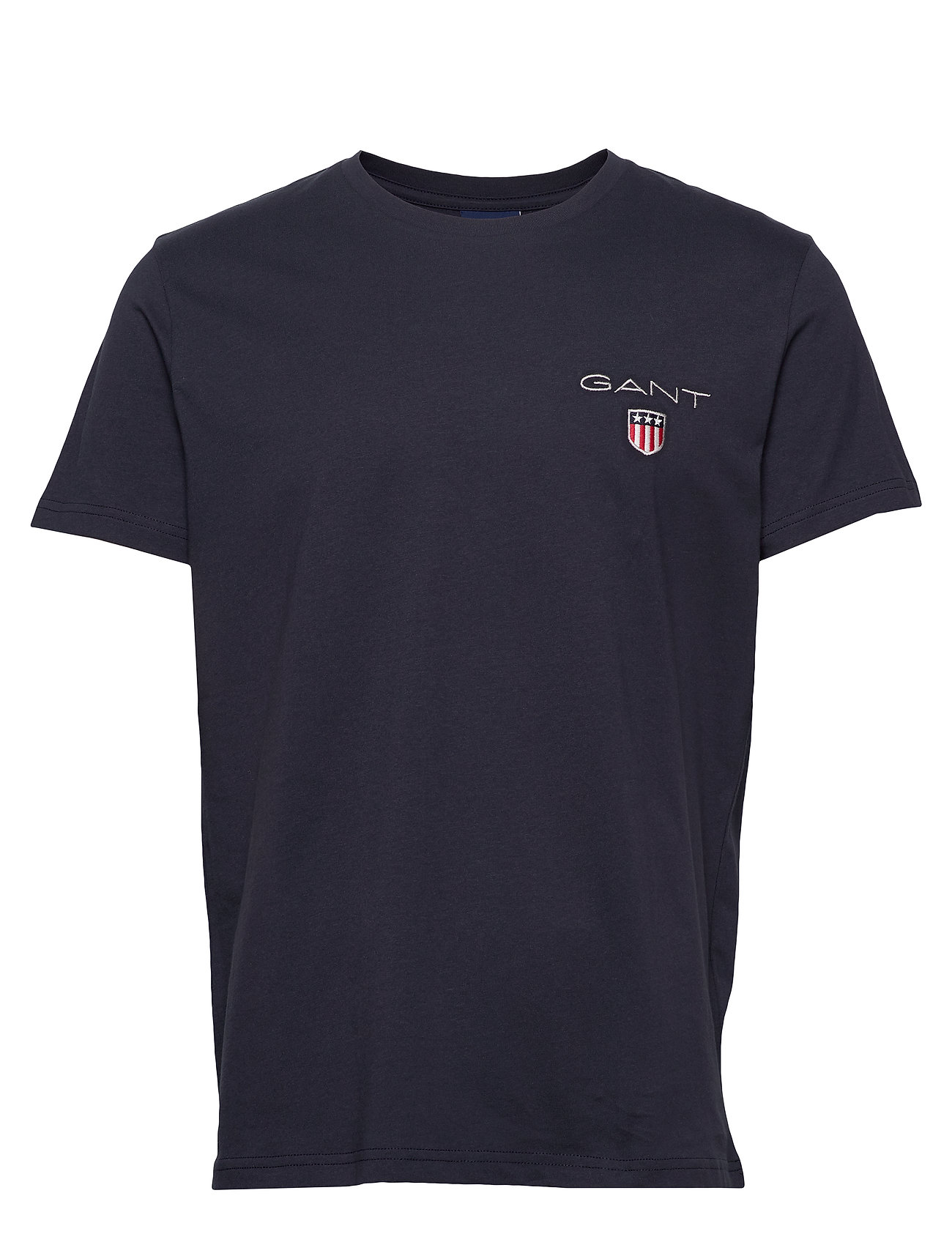 Gant D1. MEDIUM SHIELD SS T-SHIRT - EVENING BLUE