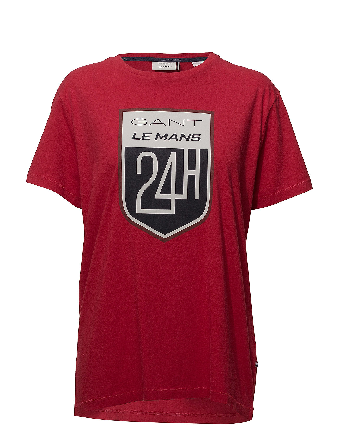 Gant LM. SS T-SHIRT - RED